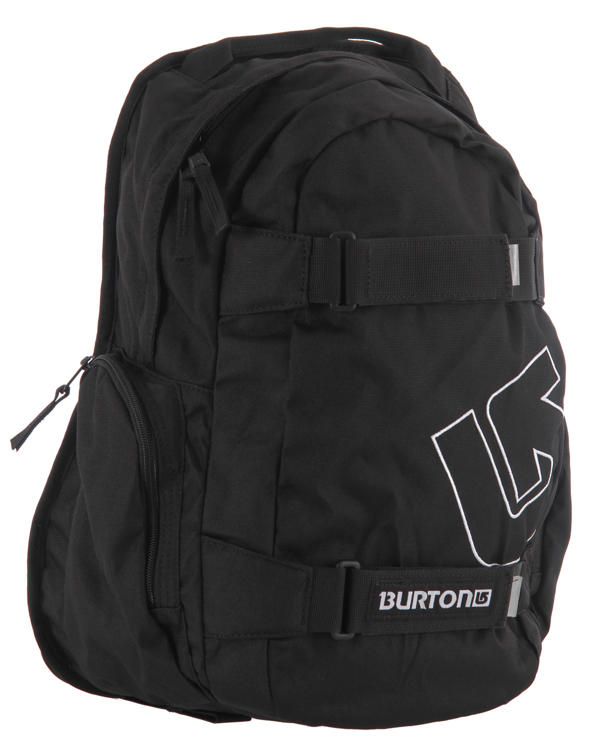 Snowboard Simple skate pack with added bang for your buck - the Burton Treble Yell Backpack.Key Features of the Burton Treble Yell Backpack: 23L [17in x 11.5in x 7in] [43cm x 29.25cm x 18cm] Weight: 1.25 lbs [0.57 kg] Fabrication: 600D Polyester / 300D Polyester Dobby Padded Laptop Pocket [14in x 10in x 1in] [35.5cm x 25.5cm x 2.5cm] Vertical Skate Carry Cush Ergonomic Shoulder Harness - $20.95