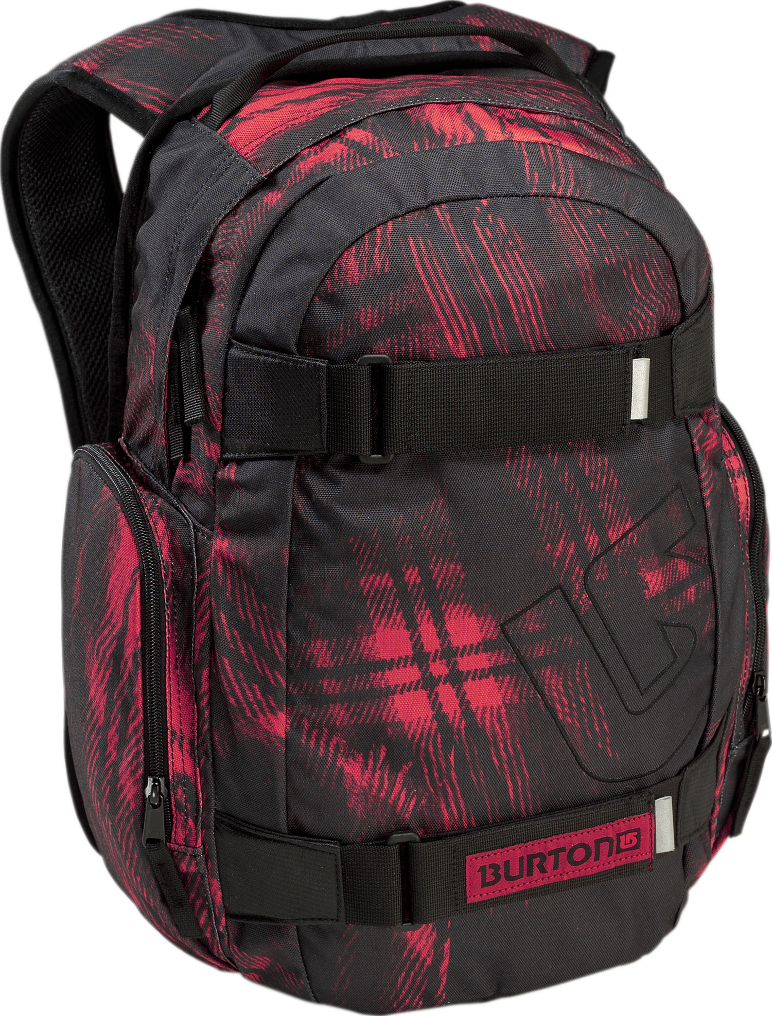 Snowboard Simple skate pack with added bang for your buck - the Burton Treble Yell Backpack.Key Features of the Burton Treble Yell Backpack: 23L [17in x 11.5in x 7in] [43cm x 29.25cm x 18cm] Weight: 1.25 lbs [0.57 kg] Fabrication: 600D Polyester / 300D Polyester Dobby Padded Laptop Pocket [14in x 10in x 1in] [35.5cm x 25.5cm x 2.5cm] Vertical Skate Carry Cush Ergonomic Shoulder Harness - $22.95