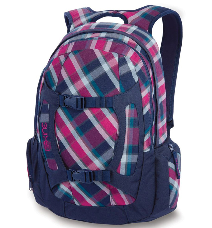 "Surf Key Features of the Dakine Girl's Alpine Backpack: Helmet carry Adjustable waist belt Fleece lined goggle pocket Lift access water bottle pocket Volume 700 cu. in. [ 12L ] Size 19 x 10 x 5"" [ 48 x 26 x 13cm ] Weight 1.3 lbs. [ .6kg ] 600D Polyester - $28.95"