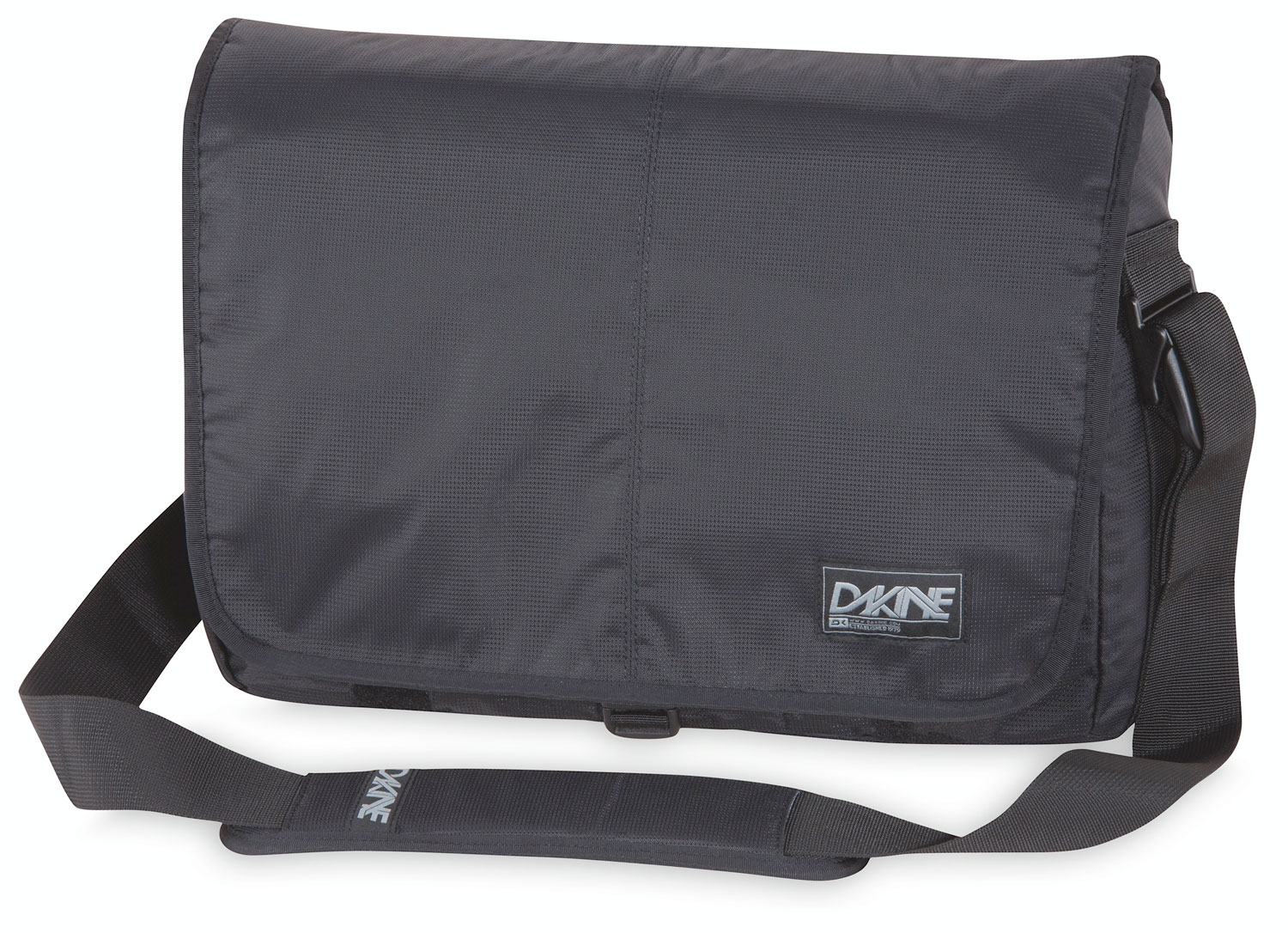 "Surf The security of one's laptop is an investment in itself, but with the Dakine Hudson 20L Laptop Bag those worries can be put to rest. With a deep volume of 20L, adequate space is set aside for laptops of various sizes and 600D Polyester makeup assures the bag will hold up in everyday use. Numerous internal organizing pockets make the bag a great choice for taking to school, while an adjustable shoulder strap is a nice addition for comfort. This Dakine Hudson Laptop Bag offers the protection such a prized item deserves!Key Features of the Dakine Hudson 20L Laptop Bag:  1200 cu. in.  [ 20L ]  17 x 11.5 x 5""  [ 43 x 29 x 13cm ]  600D Polyester  420D Nylon Dobby ( Black    Padded sleeve fits most 15"" laptops  adjustable padded shoulder strap   Internal organizer pockets - $34.95"