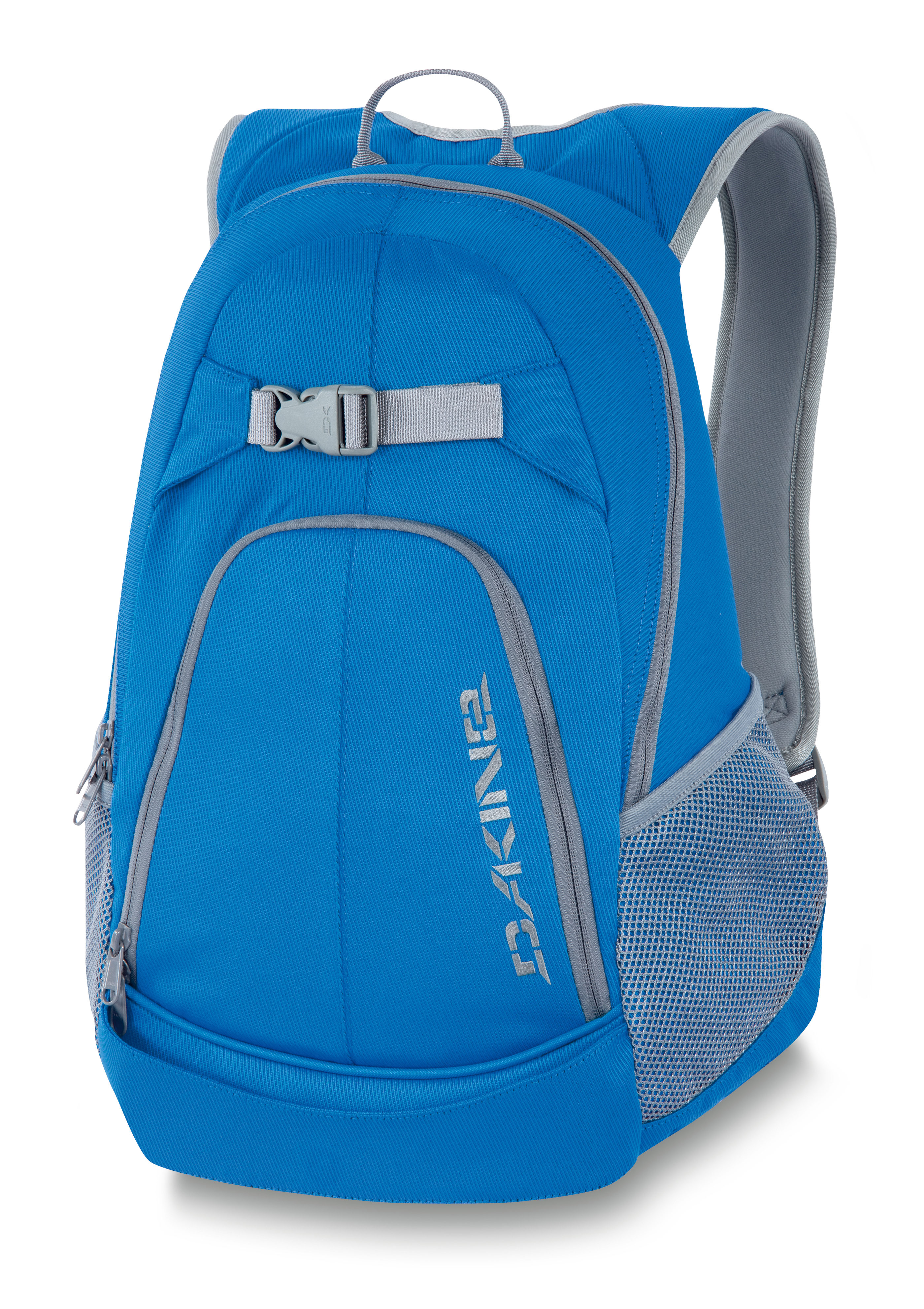 "Surf Key Features of the Dakine Pivot Backpack: Quick load skate carry Organizer pocket Mesh side pockets Volume: 1300 cu.in. [ 21L ] Size: 18 x 12 x 6"" [ 46 x 30 x 15cm ] 600D Polyester - $27.95"