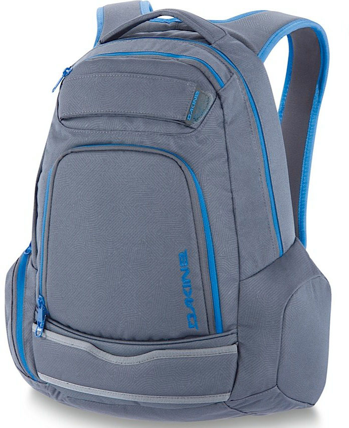 "Surf Key Features of the Dakine Varial 26L Backpack: Quick load skate carry Organizer pocket Rolling access side pocket Fleece lined sunglass pocket Volume: 1600 cu.in. [ 26L ] Size: 19 x 12 x 7"" [ 48 x 30 x 18cm ] Materials: 600D Polyester - $34.95"