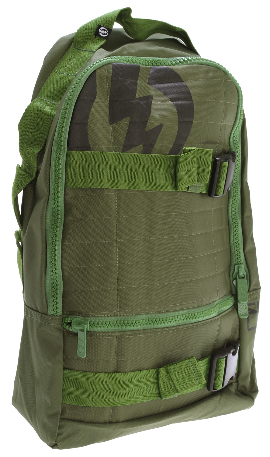 "Skateboard Key Features of the Electric MK2 Backpack Army: Skate Pack One Main Compartment With Interior Organizer Front Pocket 100% Polyester Dimensions: 18"" X 11"" X 7"" - $30.95"