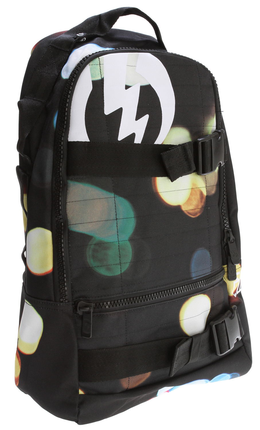 "Skateboard Key Features of the Electric MK2 Backpack Army: Skate Pack One Main Compartment With Interior Organizer Front Pocket 100% Polyester Dimensions: 18"" X 11"" X 7"" - $28.95"