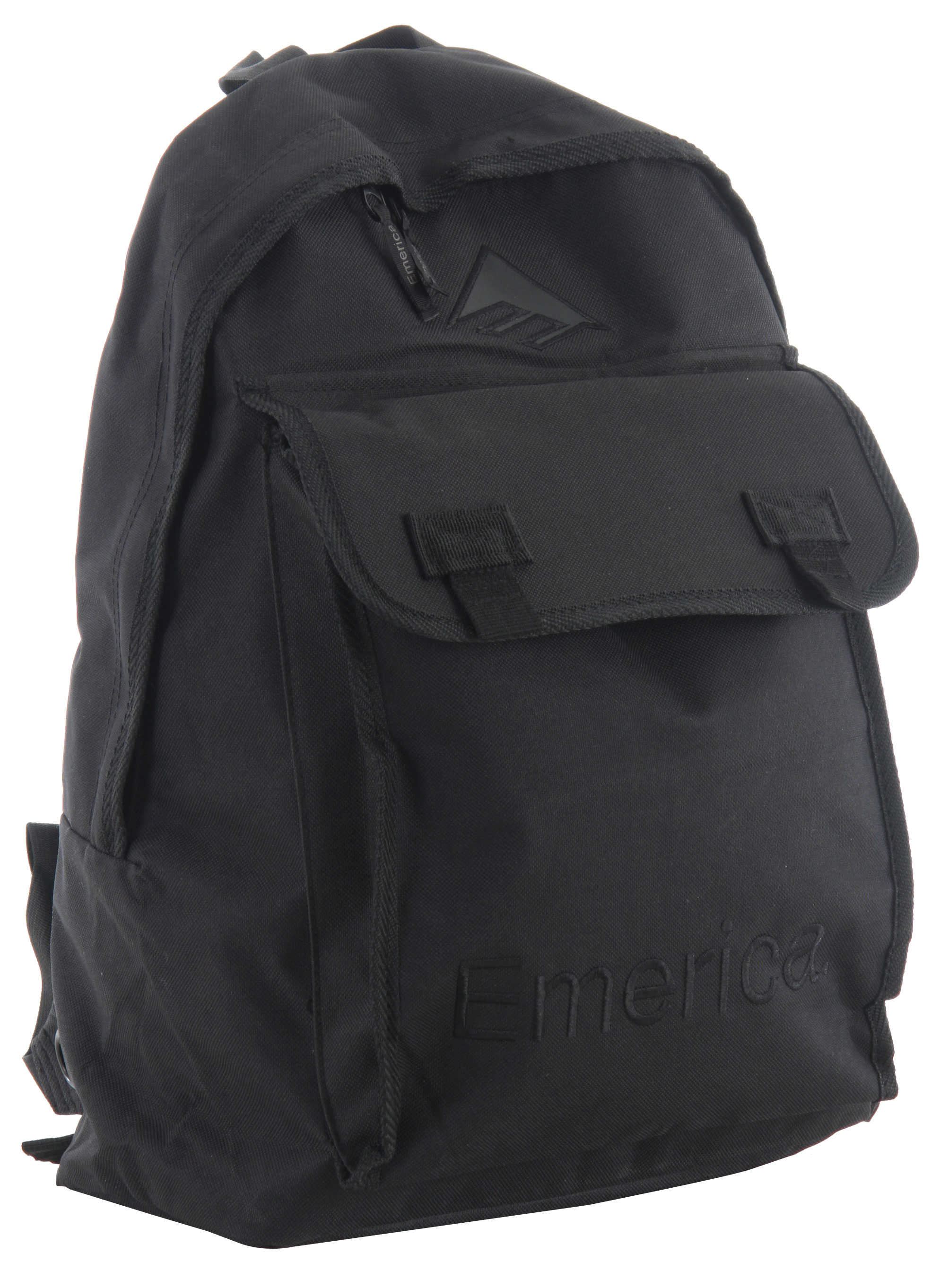 The Emerica Alamo Backpack has multi compartments and is made out of 600D polyester. - $20.95