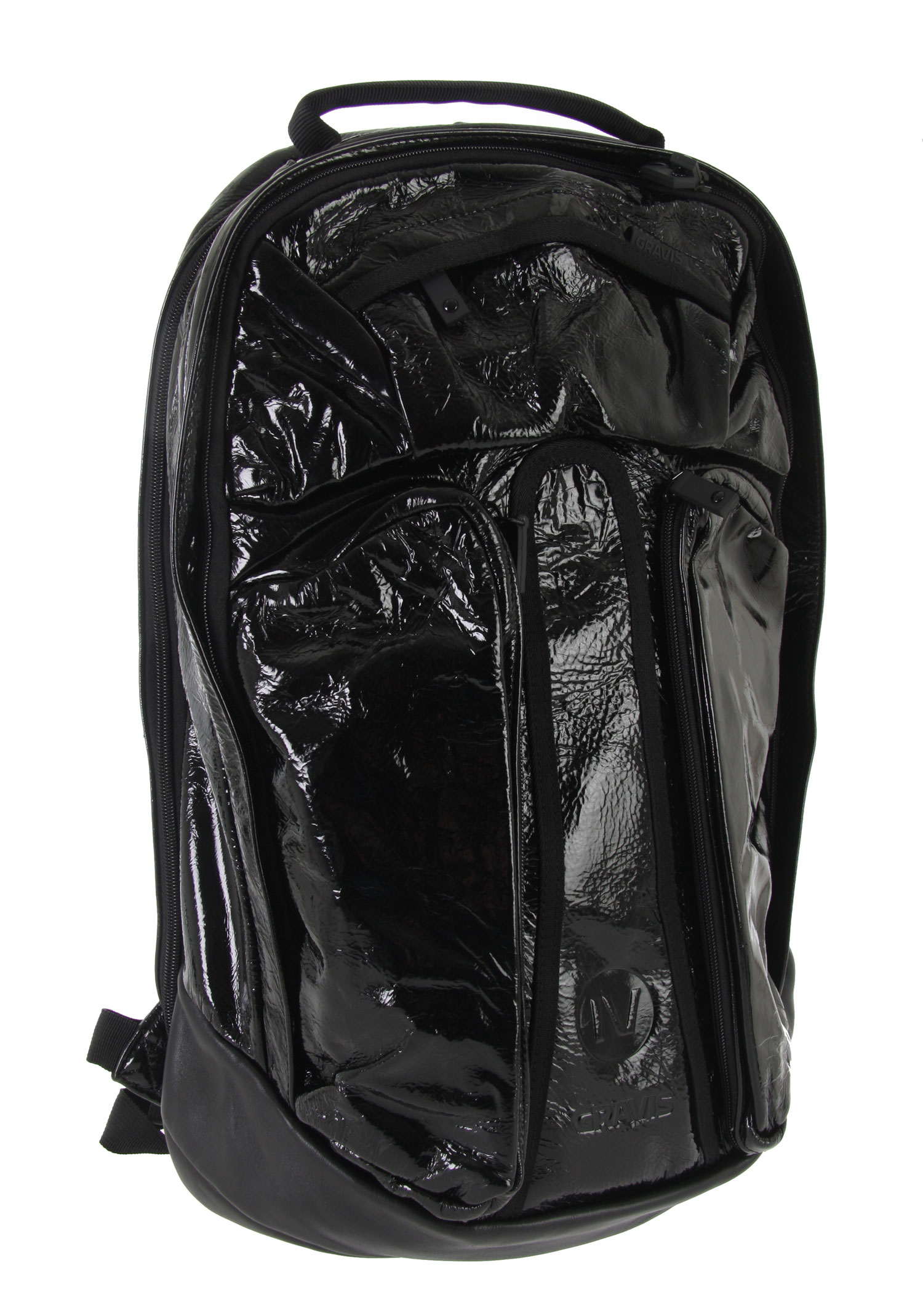 Entertainment Get the ultimate backpack that's both stylish and comfortable.  The Gravis Metro Black Box Backpack features hidden backstraps.  This bag features a simple design, showcasing outer pockets and a main compartment.  With added padding on the shoulder straps, carry it around with ultra comfort.  This is a must-have bag for great convenient travel.Key Features of the Gravis Metro Black Box Backpack: Hidden back pack straps Side organizer pockets Padded shoulder strap Volume: 25L Dimensions: 56x31x29cm - $79.95