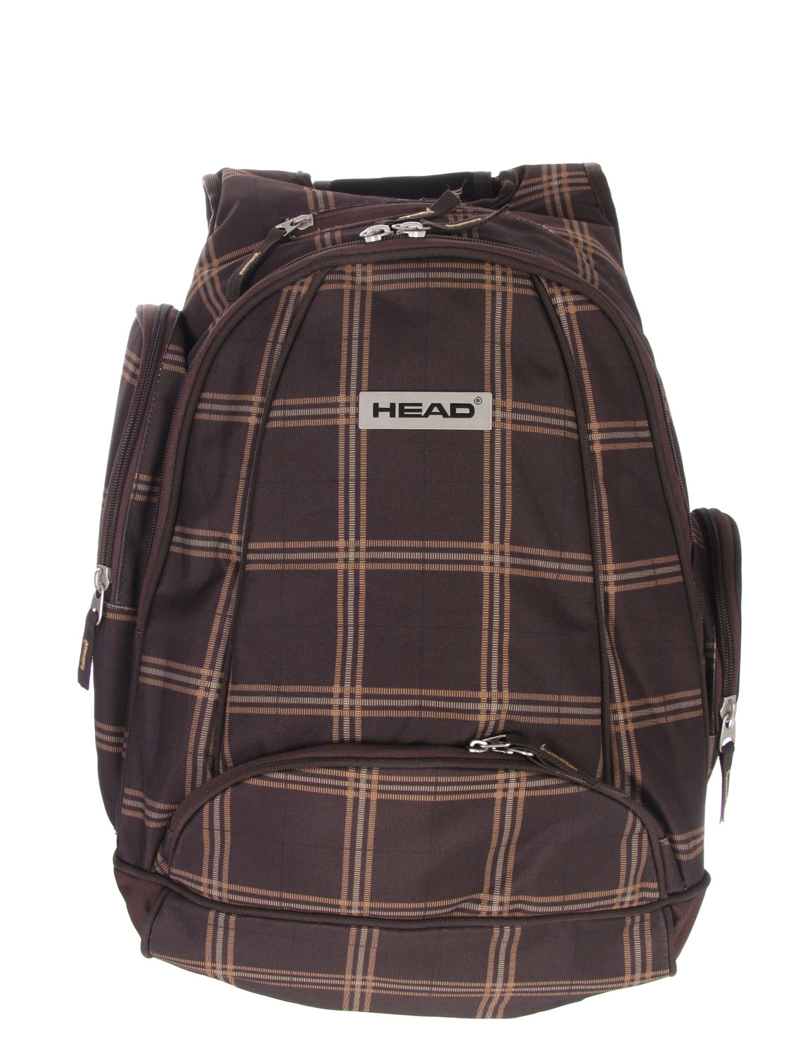 The Head Street Backpack is a rugged and stylish bag that is perfect for all occasions. With a thick layer of built in padding, the back pack is designed to carry laptops and other fragile objects safely and comfortably. The pack has two main pockets large enough to store books, binders, laptops, and plenty of other things. The side utility pockets give quick access to smaller objects and there is even a media pocket specially designed for an mp3 or CD player. With its padded straps, carrying around the Head Street Backpack is no chore either.Key Features of The Head Street Backpack: Padded Laptop Pocket Sound Pocket Ergonomic Padded Shoulder Strap Ergonomic Padded Back with Breathable Lining Fast Access Utility Pockets 36 x 17 x 52xm / 32L - $44.95