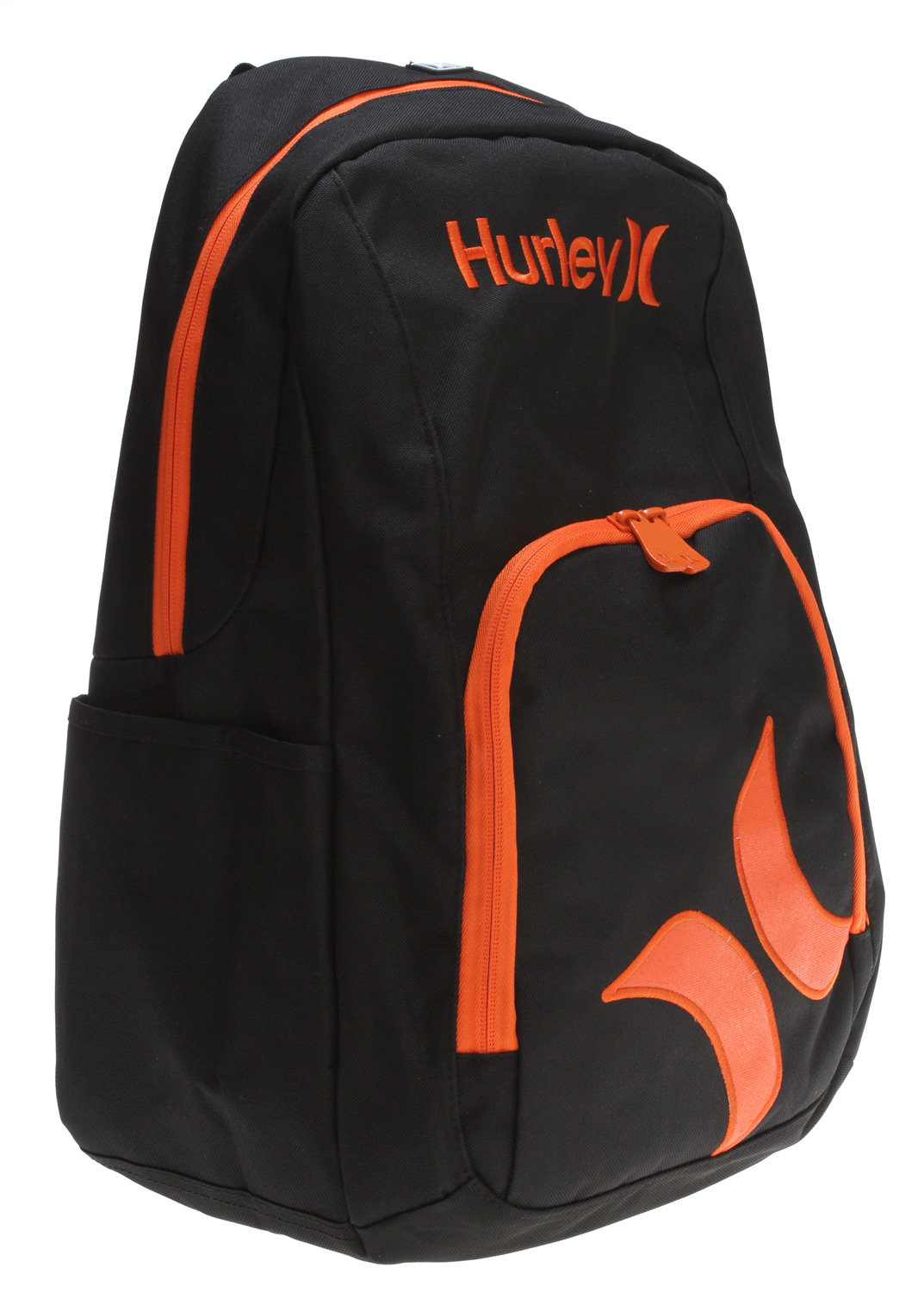 "Surf Key Features of the Hurley Professor Backpack: Embroidered ""Hurley"" and logo canvas backpack Laptop and multi zip compartments Padded adjustable straps - $19.95"