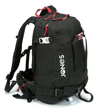 The 30L pack pumps up the volume for backcountry missions where you need to bring a little more. It's bigger in the right spots as a separate avy tool pocket, dual hip pockets and a back panel zipper to the main compartment for easy access to your gear. Compression straps where you want them for securing boards and poles. - $146.95