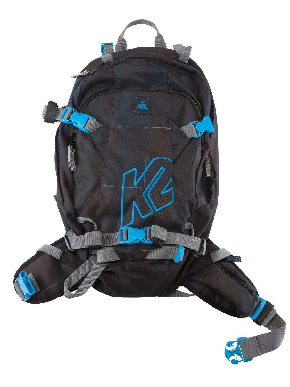 Snowboard The Hyak Pack is designed to carry your K2 shovel and probe, an extra pair of goggles, and any other important items needed on your adventure. This 15 liter pack is light, durable and packed with the features you need to explore in and outside of the resort. - $89.95