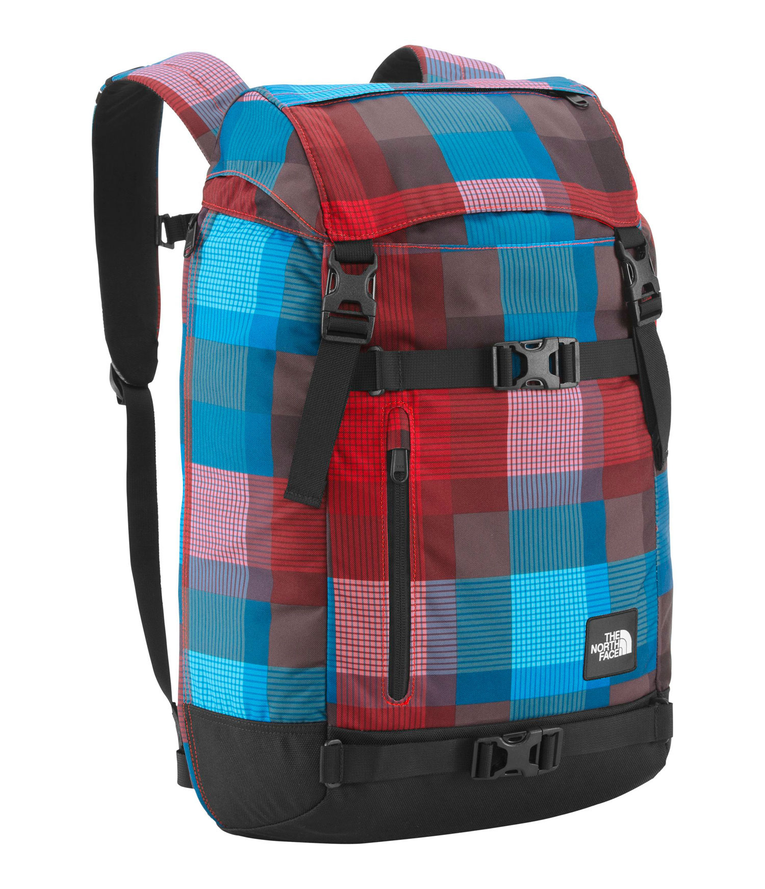 Spacious rucksack that's ready to rally anytime, anywhere. Key Features of The North Face Pre-Hab Backpack: Avg Weight: 2 lbs 5 oz (1050 g  Volume: 1710 in³ (28 liters  Fabric: black: 630D ballistics nylon, 1200D polyester colors: 600D polyester print, 1200D polyester Spacious rucksack that's ready to rally anytime, anywhere. FlexVent   injection-molded shoulder straps Comfortable, padded Airmesh back  panel Zippered, dedicated laptop compartment with side and top access Large main compartment with cinch closure Zippered tricot-lined  stash pocket on top lid Front zippered and open stash pockets Removable sternum strap - $61.95