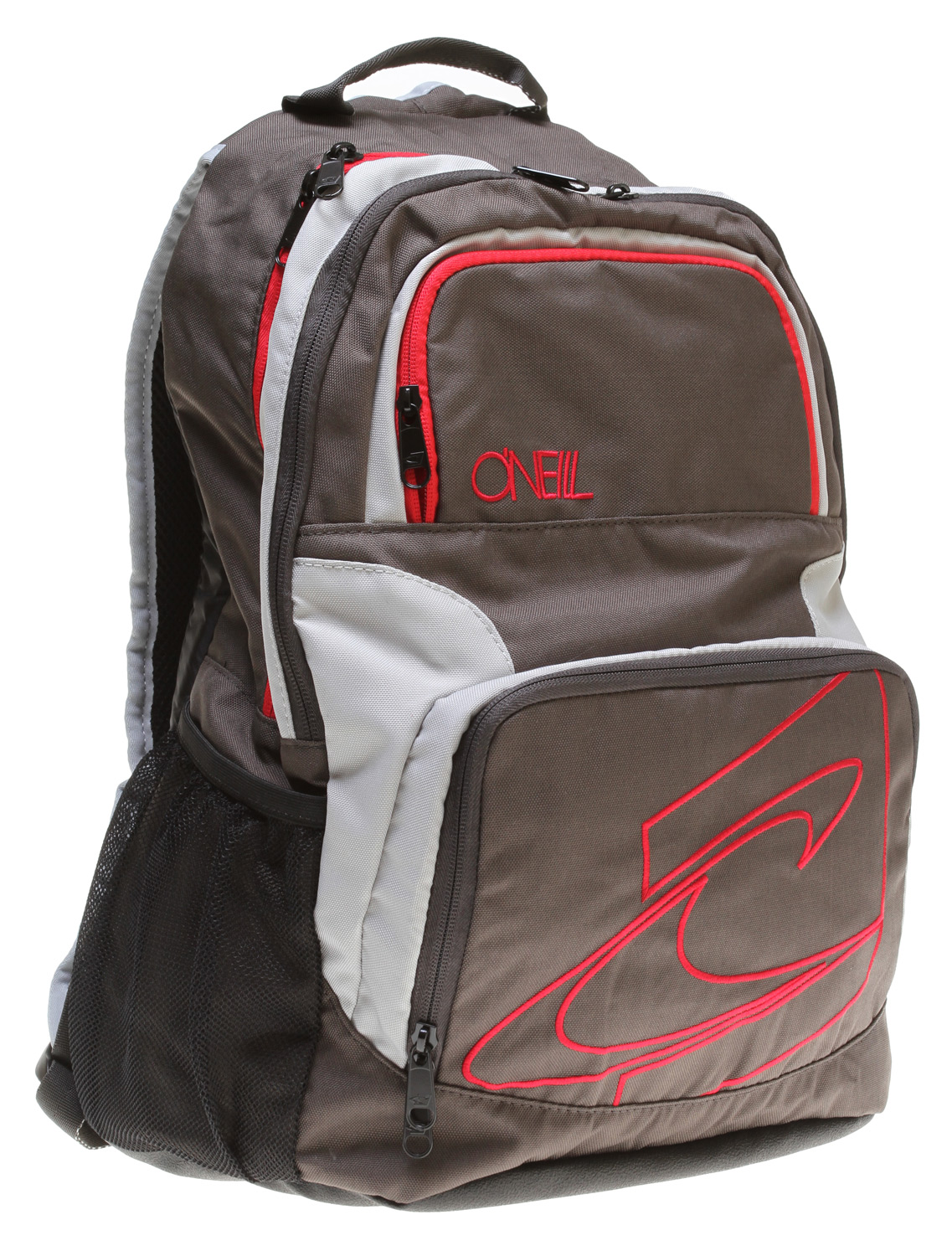 "Surf Key Features of the O'Neill Epic Backpack: Two main compartments Breathable back flow channels Multiple storage pockets 600D polyester with rubber bottom 18"" x 13"" x 7"" - $31.95"