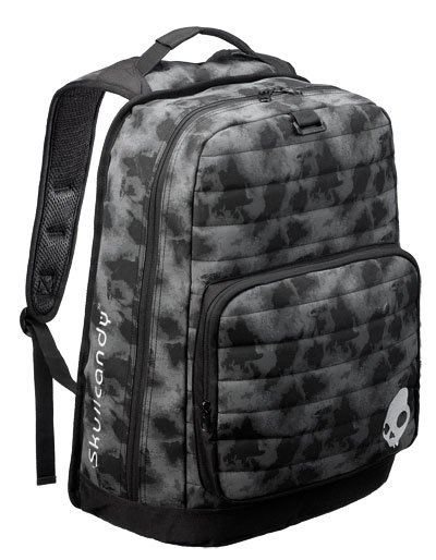 Key Features of the Skullcandy Player Backpack: Front Organizer Pocket Quilted 600D Poly - $25.95