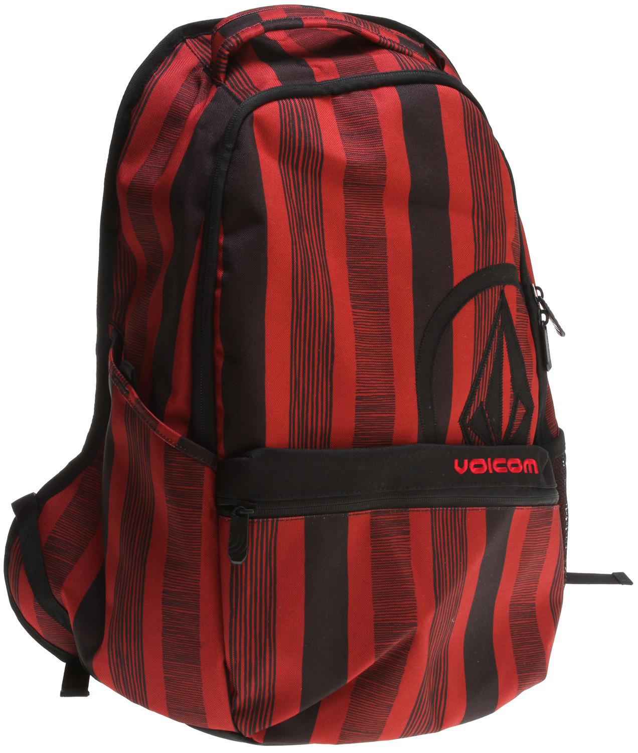 "Surf Key Features of the Volcom Equator Backpack: Volume: 31L Dimensions: 12 x 7 x 19"" Weight: 1lb Two compartment backpack with 'Circle Stone' applique and 'Volcom' embroidery As part of Volcom's V.Co-logical effort, a portion of the proceeds from the sale of this style will be donated to charities affiliated with 1% for the Planet - $28.95"
