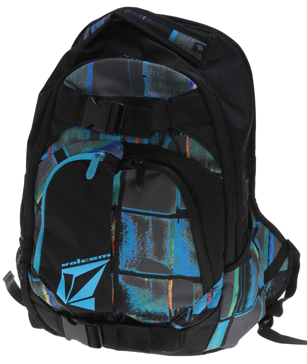 "Surf Key Features of the Volcom Equilibrium Stoneage Backpack: Volume: 1891in³ [31L] Dimensions: 19.75 x 13 x 7.75"" [50 x 33 x 20cm] Weight: 1.5lb [0.66kg] Three compartment backpack with 'Volcom/Stone' gel prints 300D polyester - $33.95"