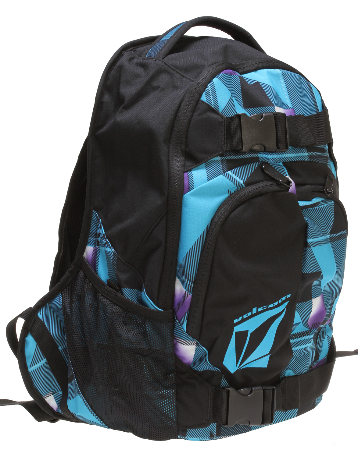 "Surf Key Features of the Volcom Equilibrium Stoneage Backpack: Volume: 1891in [31L] Dimensions: 19.75 x 13 x 7.75"" [50 x 33 x 20cm] Weight: 1.5lb [0.66kg] Three compartment backpack with 'Volcom/Stone' gel prints 300D polyester - $30.95"