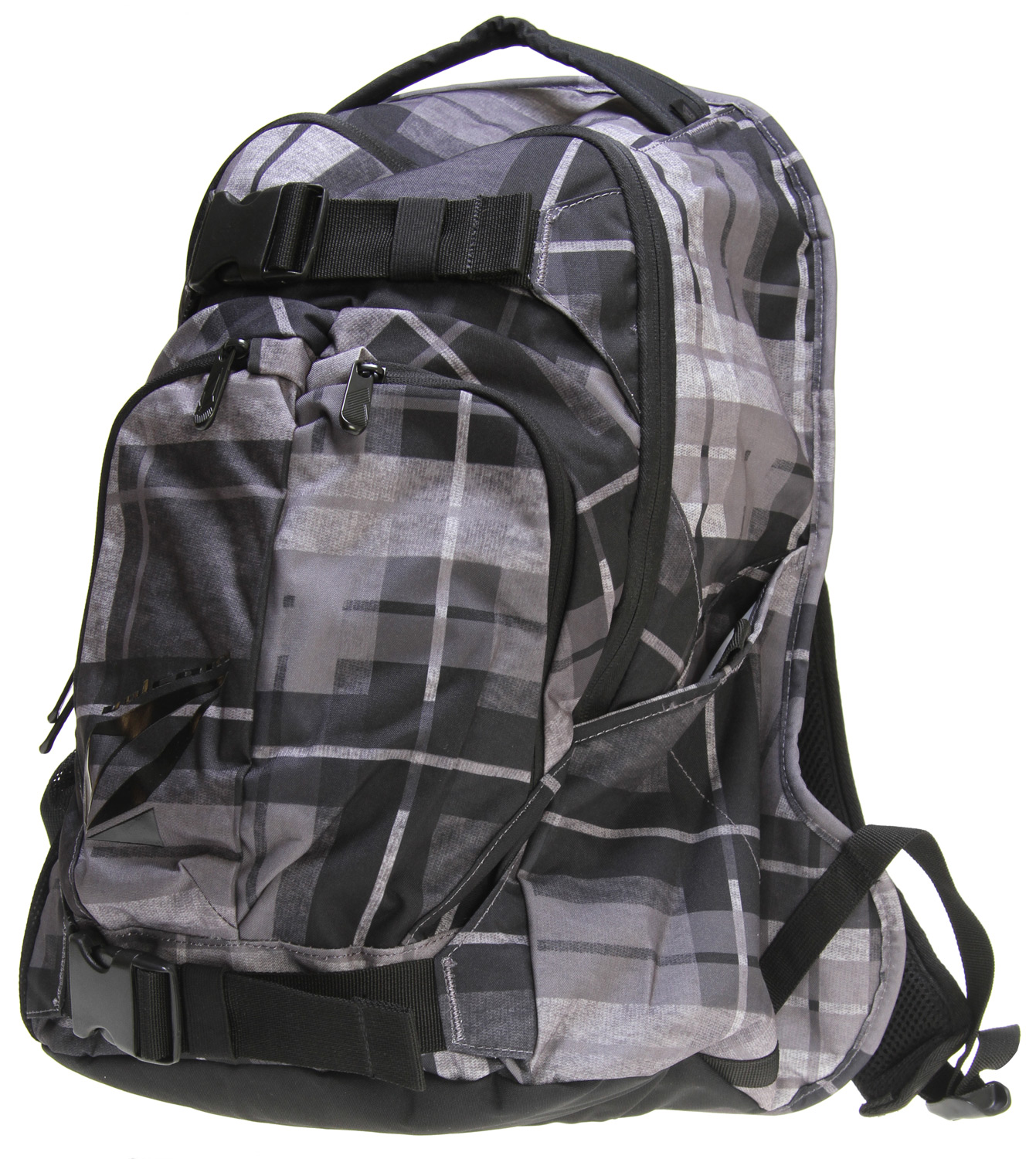 "Surf Key Features of the Volcom Equilibrium Stoneage Backpack: Volume: 1891in [31L] Dimensions: 19.75 x 13 x 7.75"" [50 x 33 x 20cm] Weight: 1.5lb [0.66kg] Three compartment backpack with 'Volcom/Stone' gel prints 300D polyester - $35.95"
