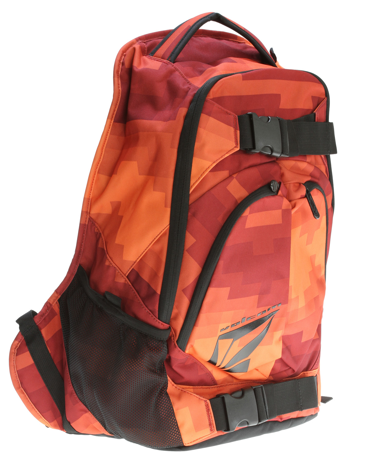 "Surf Key Features of the Volcom Equilibrium Stoneage Backpack: Volume: 1891in [31L] Dimensions: 19.75 x 13 x 7.75"" [50 x 33 x 20cm] Weight: 1.5lb [0.66kg] Three compartment backpack with 'Volcom/Stone' gel prints 300D polyester - $33.95"