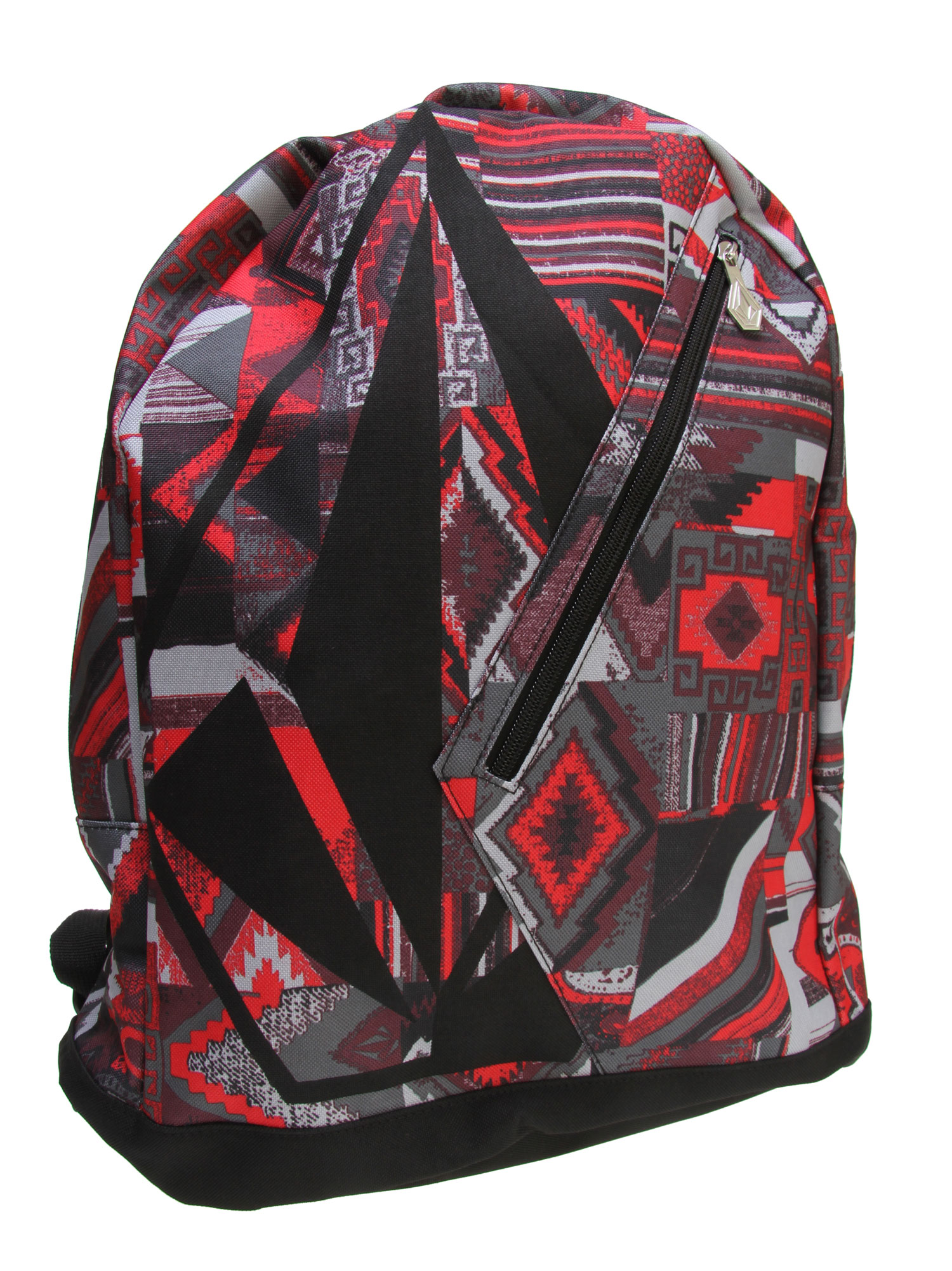 "Surf Key Features of the Volcom Messaround Backpack: 100% Polyester Printed poly backpack with large Stone screenprint and Stone shape zipper pocket at front Interior zipper pocket. 17""H x 14""W x 4 1/2""D - $20.95"