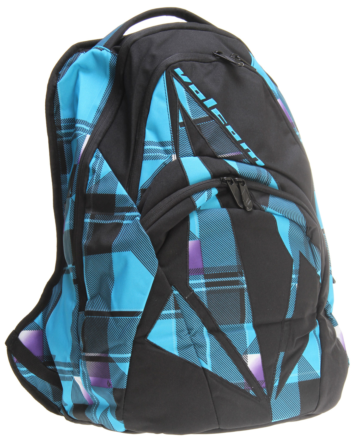 "Surf Are you tired of all the horrible looking back packs out there for sale? Don't you wish there where better looking back packs that caught your interest? Are you an adrenalin junkie? Do you love board sports? Well if you are into board sports and love adrenalin then you will probably love this Volcom Purma Backpack it's a great looking back pack at a great price. It's a great way to express your inner adrenalin junkie and carry your books at the same time. It's very light weight and durable so you will be happy for some time to come.Key Features of the Volcom Purma Backpack: Dimensions: 17 3/4""H x 11 3/8""W x 6 3/4""D (47cm H x 32cm W x 18cm D) Volume: 1159 in; (21 Liters) Weight: 1.55 lb (.7 kg) 4 compartment/2 pocket backpack with Volcom print artwork Sold Individually/By Color100% Polyester - $33.95"