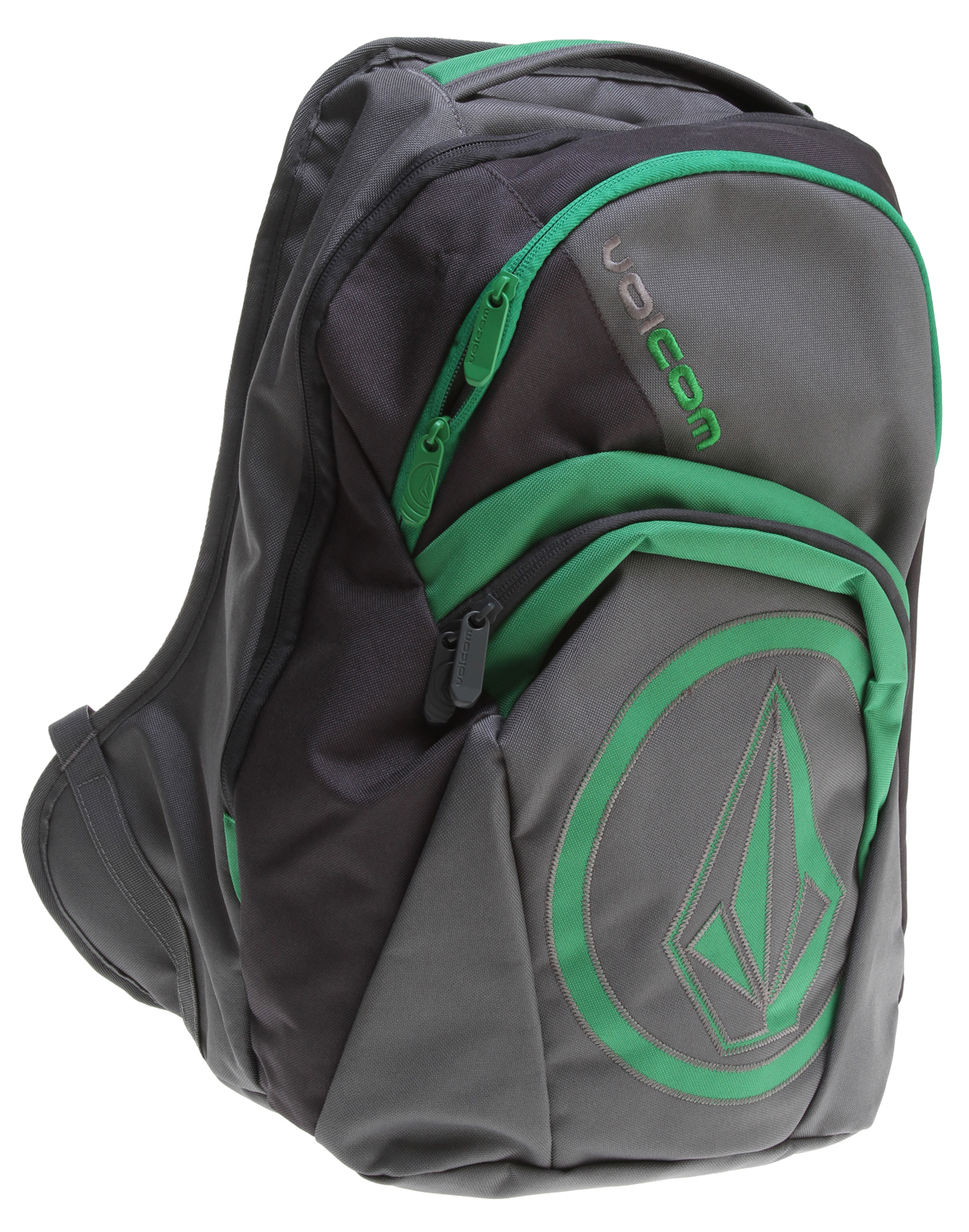 "Surf Are you tired of all the horrible looking back packs out there for sale? Don't you wish there where better looking back packs that caught your interest? Are you an adrenalin junkie? Do you love board sports? Well if you are into board sports and love adrenalin then you will probably love this Volcom Purma Backpack it's a great looking back pack at a great price. It's a great way to express your inner adrenalin junkie and carry your books at the same time. It's very light weight and durable so you will be happy for some time to come.Key Features of the Volcom Purma Backpack: Volume: 31L Dimensions: 19.75 x 13 x 7.75"" Weight: 1.4lb Four compartment backpack with 'Stone' applique and 'Volcom' embroidery As part of Volcom's V.Co-logical effort, a portion of the proceeds from the sale of this style will be donated to charities affiliated with 1% for the Planet - $35.95"