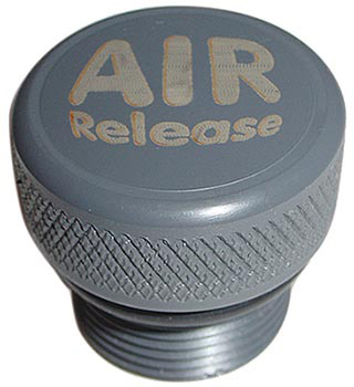 Replacement plug for the standard ballast plus used with Fly High ballast bags, but allows you to burp excess air out of the bag by loosening the fitting. - $5.99