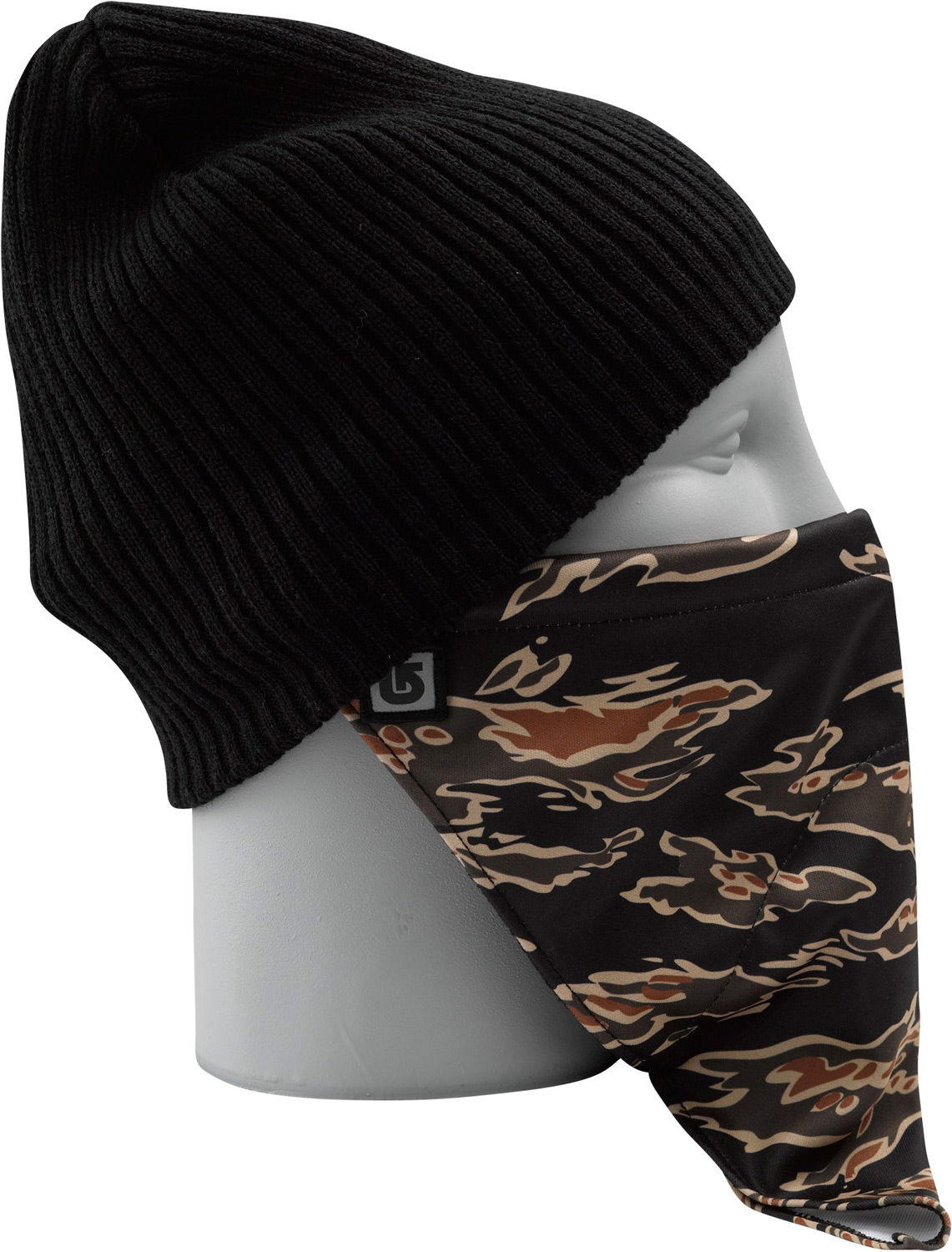 Snowboard Key Features of the Burton Bandito Facemask: 100% Polyester with Fleece Lining Tie-Back Bandana with Toggle Various Burton Screen Prints - $13.95