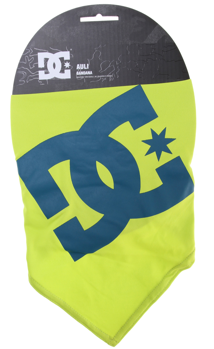 Key Features of the DC Auli Bandana: Brushed back poly waffle wicking unisex bandana. 96% polyester, 4% spandex - $15.00