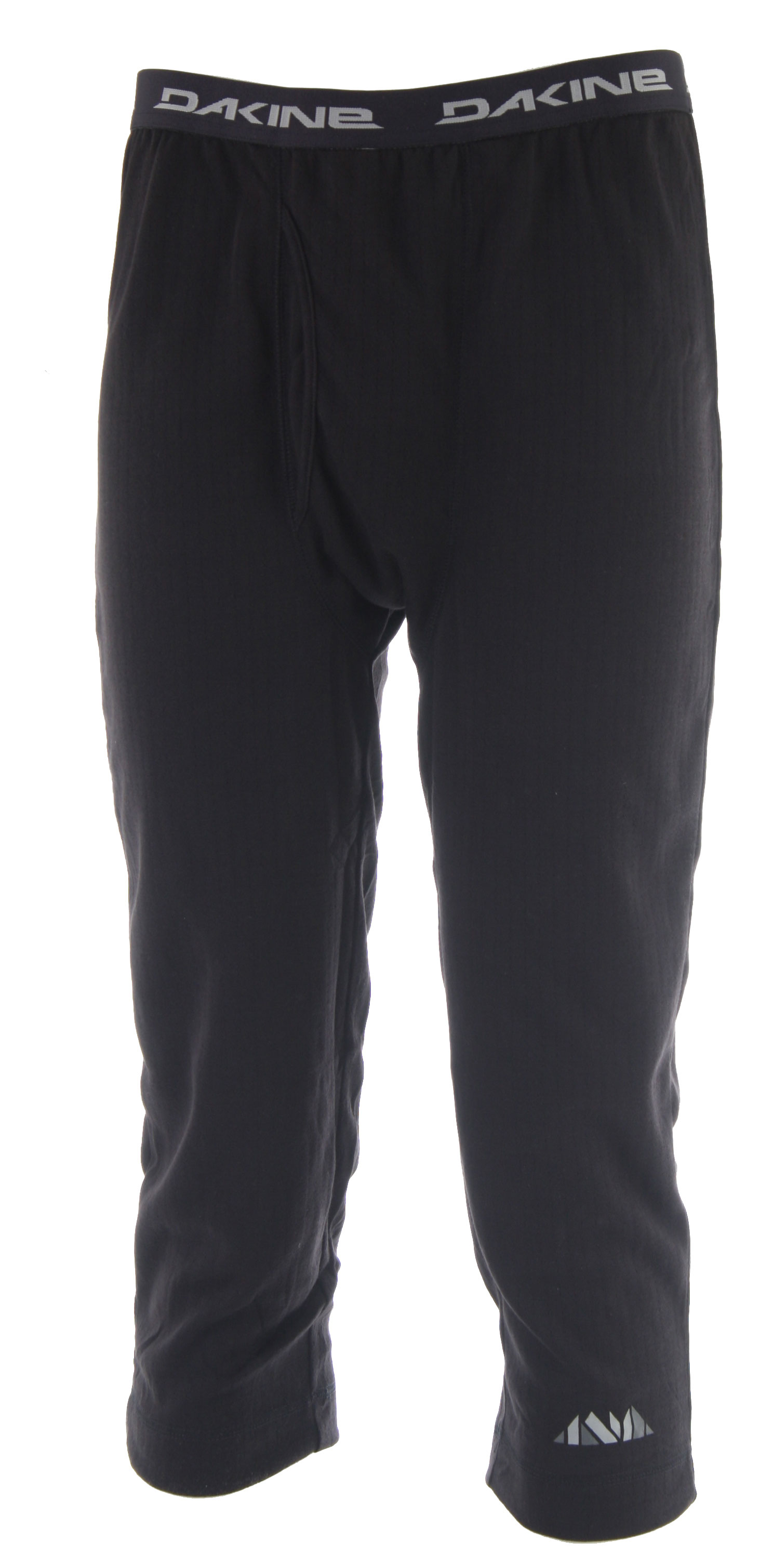 Surf Key Features of the Dakine Foundation 3/4 First Layer Pants: 100% Polyester double-knit Two layers for warmth and dryness with no bulk AEGIS microbe shield antibacterial fabric treatment - $19.57