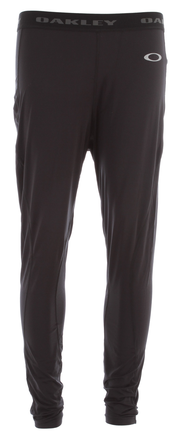No need to be sticky and cicky anymore with wicking and antibacterial technologyKey Features of the Oakley Great Ascent First Layer Bottoms: Stretch Moisture management Antibacterial Regular fit 88% Polyester, 12% Spandex - $34.95
