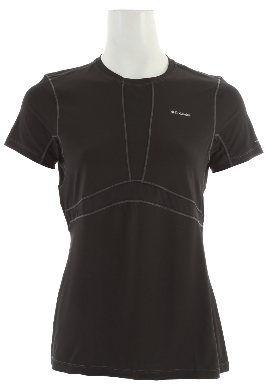 Columbia Baselayer Lightweight S/S Top Black - $32.95