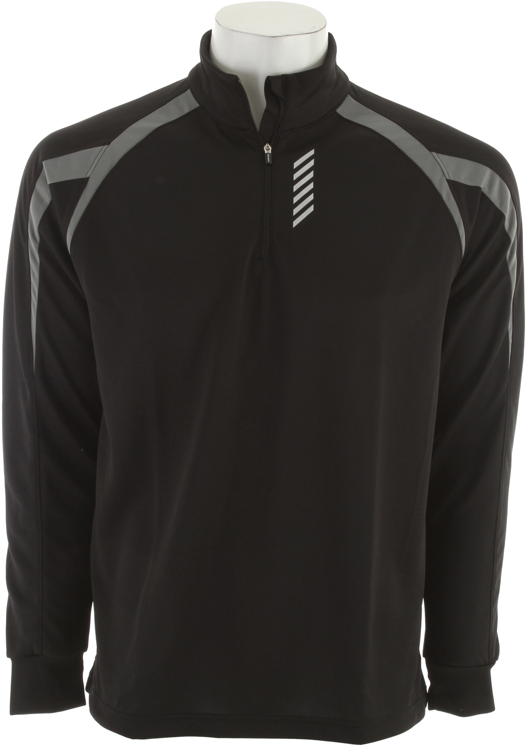 Key Features of the Descente Everest Baselayer Top Black: 1/4 Zip Dry-tech T-Neck Dry tech - $62.00