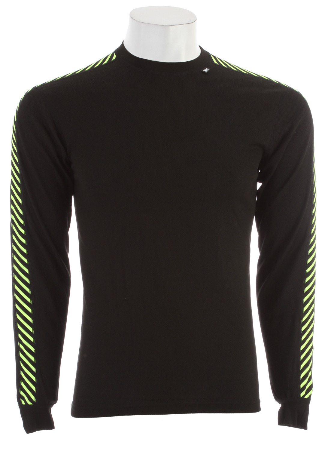 The original technical baselayer. The Lifa white stripes are recognized by professionals, core athletes and enthusiasts around the world. Designed for all sports all year.Key Features of the Helly Hansen Dry Stripe Crew Baselayer Top: Lifa Stay Dry Technology Flat lock stitching Low bulk cuffs Fabric weight: 125g/m2 100% POLYPROPYLENE - $40.00