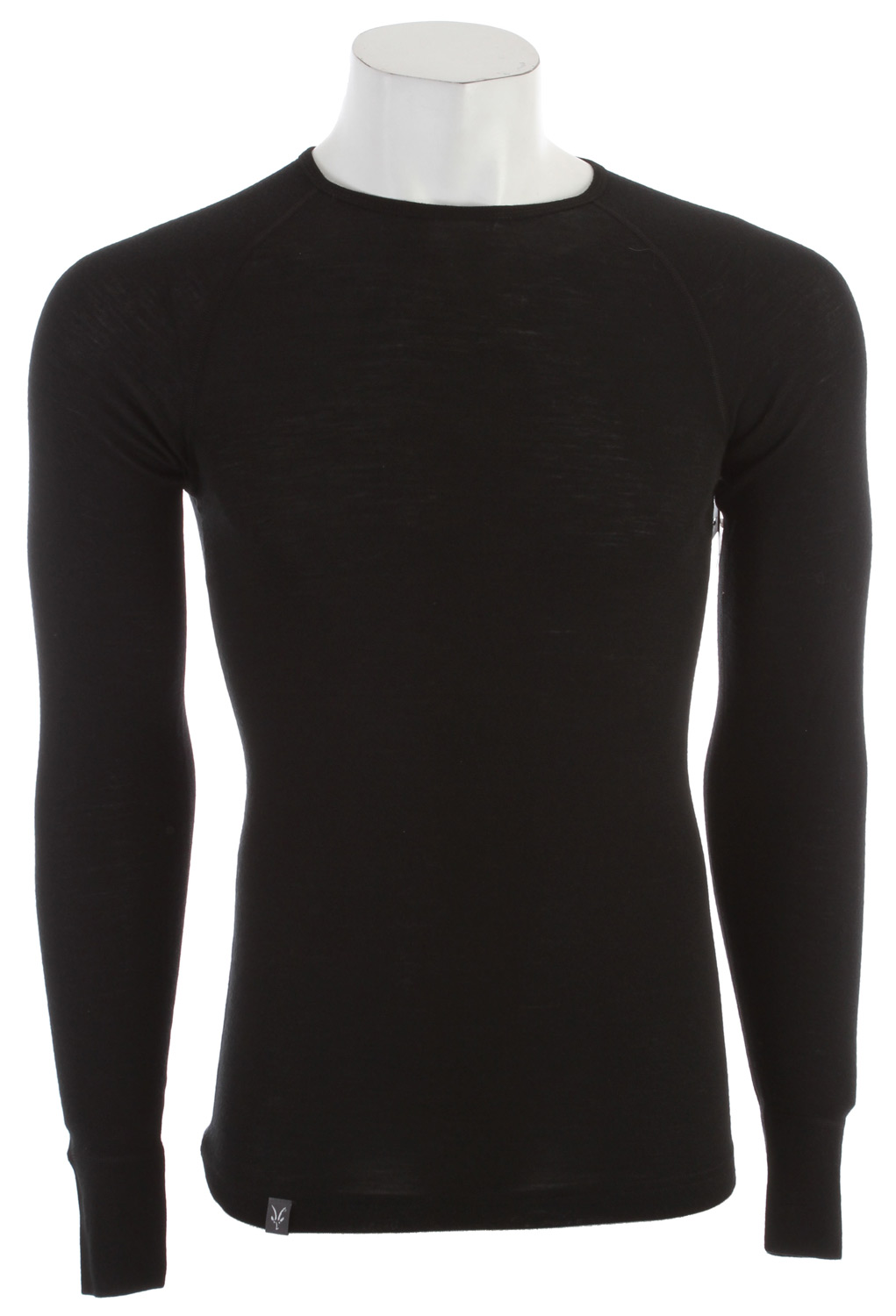 "Now a renown Ibex baselayer, the Woolies Crew is form fit with raglan sleeves and flat seams. 18.5 micron New Zealand Merino wool fabric forms a perfect 150g/m2 baselayer weight. Woolies: The 18.5 superfine wool yarn offers a warm, close-to-the-body fit that moves with you and keeps its shape. This award-winning, guide-approved ribbed fabric feels luxurious yet holds up in most rigorous conditions. The rib construction provides space for air permeability contributing to superior performance and excellent stretch and recovery. Naturally odor resistant, or ""no stink"" is a huge bonus. First layer on, last off, you'll be so comfortable you'll forget you're wearing anything! Machine washable.Key Features of the Ibex Woolies 150 Crew Baselayer Top: Lightest Ibex base layer Form-fit Flatlock seams Raglan sleeves Wide cuff detail Tag-free labels Made in Canada 18.5 micron 100% Zque New Zealand Merino wool 150 g/m2 Garment Weight (oz): 6.4 oz - $79.95"