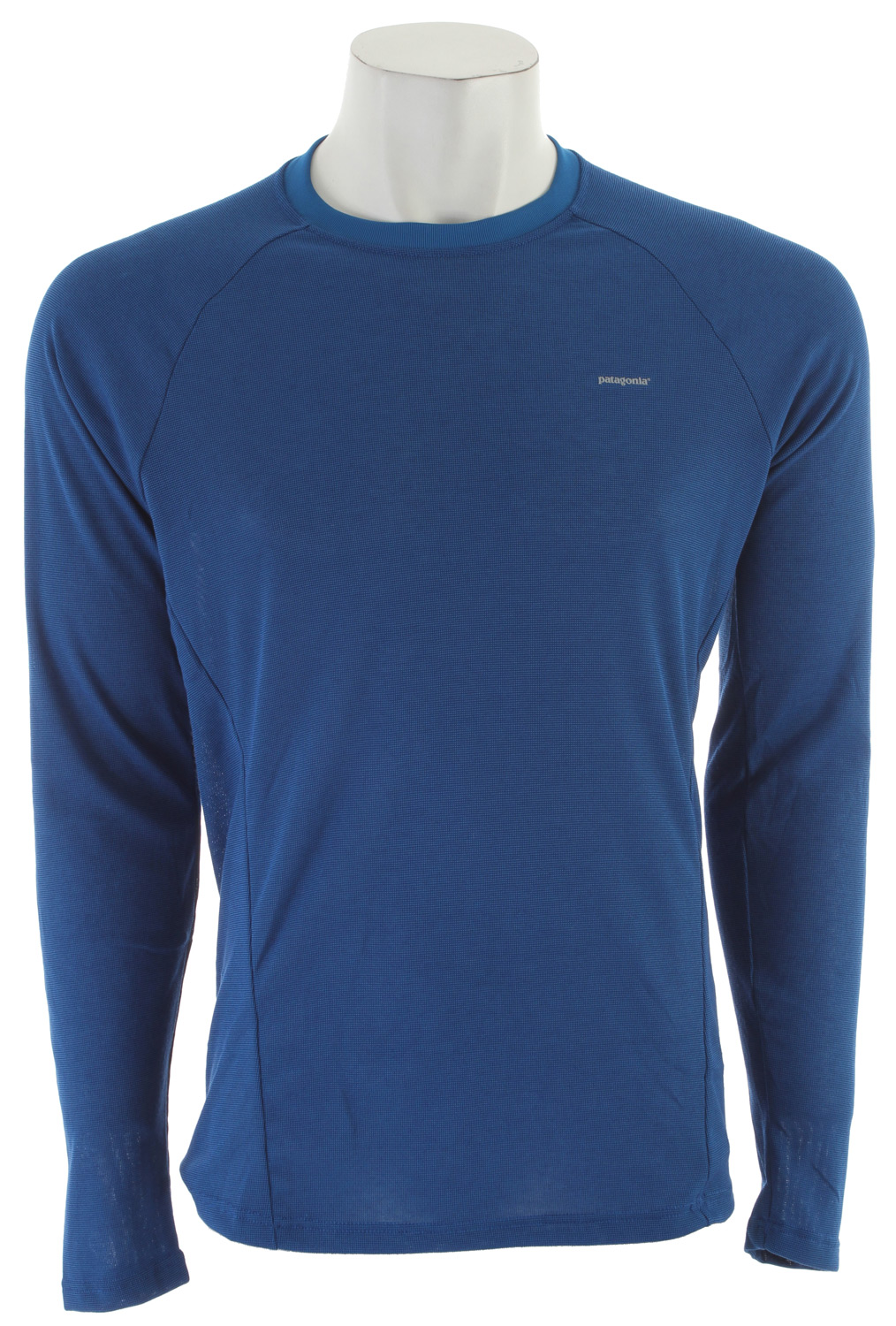 Fitness Our most breathable synthetic baselayer keeps you dry and comfortable in cool conditions. Whether striding through an early morning run or shuffling along under the weight of a loaded pack, Capilene 2 baselayer has got your back. Its open-knit construction breathes, wicks moisture and clocks the fastest dry time of all our performance baselayer fabrics. You can wear it on its own in warm weather or as insulation beneath layers. With a rib-knit collar that's soft against the skin, offset side seams and raglan sleeves for a chafe-free fit under shoulder straps. Made of 4-oz 100% polyester (54% recycled), with Gladiodor odor control for the garment.Key Features of the Patagonia Capilene 2 LW Crew Baselayer Top: Slim fit Open knit promotes airflow, is naturally stretchy and provides excellent wicking for endurance activities in cool to moderate temperatures Our fastest-drying baselayer fabric insulates enough for use on chilly days and can be worn beneath other layers Self-fabric neckline is soft next to skin Raglan sleeves and underarm panels merge out of the way of pack straps Flat-rib panel-piecing under the arms and sides is exceptionally breathable, fast drying and eliminates armpit seam chafing Machine-wash cold, tumble dry at low temperature 4-oz 100% polyester (54% recycled) circular knit, with Gladiodor odor control for the garment 158 g (5.6 oz) Made in Mexico. Material: Capilene baselayers feature a moisture-wicking polyester fabric that dries quickly. Capilene polyester is also recycled, recyclable and features Gladiodor garment odor control. Technology: Climbing, skiing, running: at some point you're going to sweat, and at some point you're going to stink. Gladiodor Garment Odor Control reduces unwanted smells on the fabric of a garment so you and your partners can breathe a little easier. Gladiodor treatments are rigorously tested for functionality initially and after washing. - $45.00