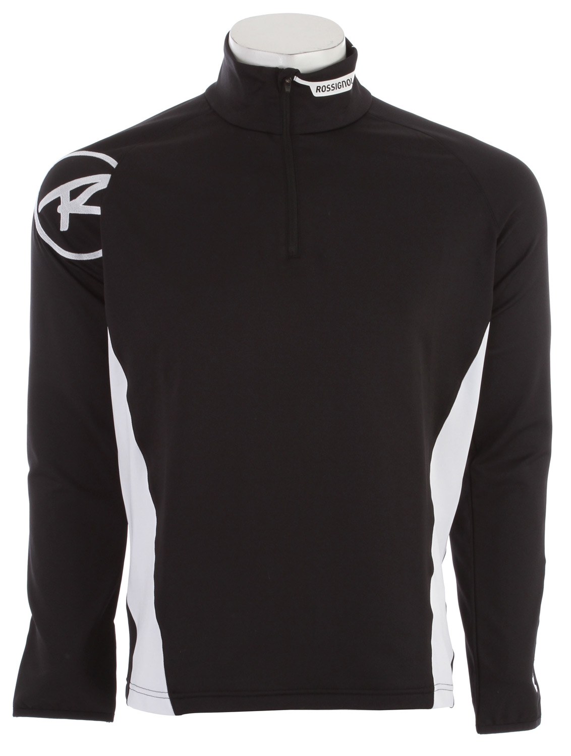 Key Features of the Rossignol Warm Stretch 1/2 Zip Baselayer Top: Weave: Warm stretch Content: 93% Polyester - 7% Lycra Weight: 230 g/m2 Finish: Brushed Inside Accessories: 1/2 zip - Laser branding Center back length: 73cm - 28,75 inches - $80.00