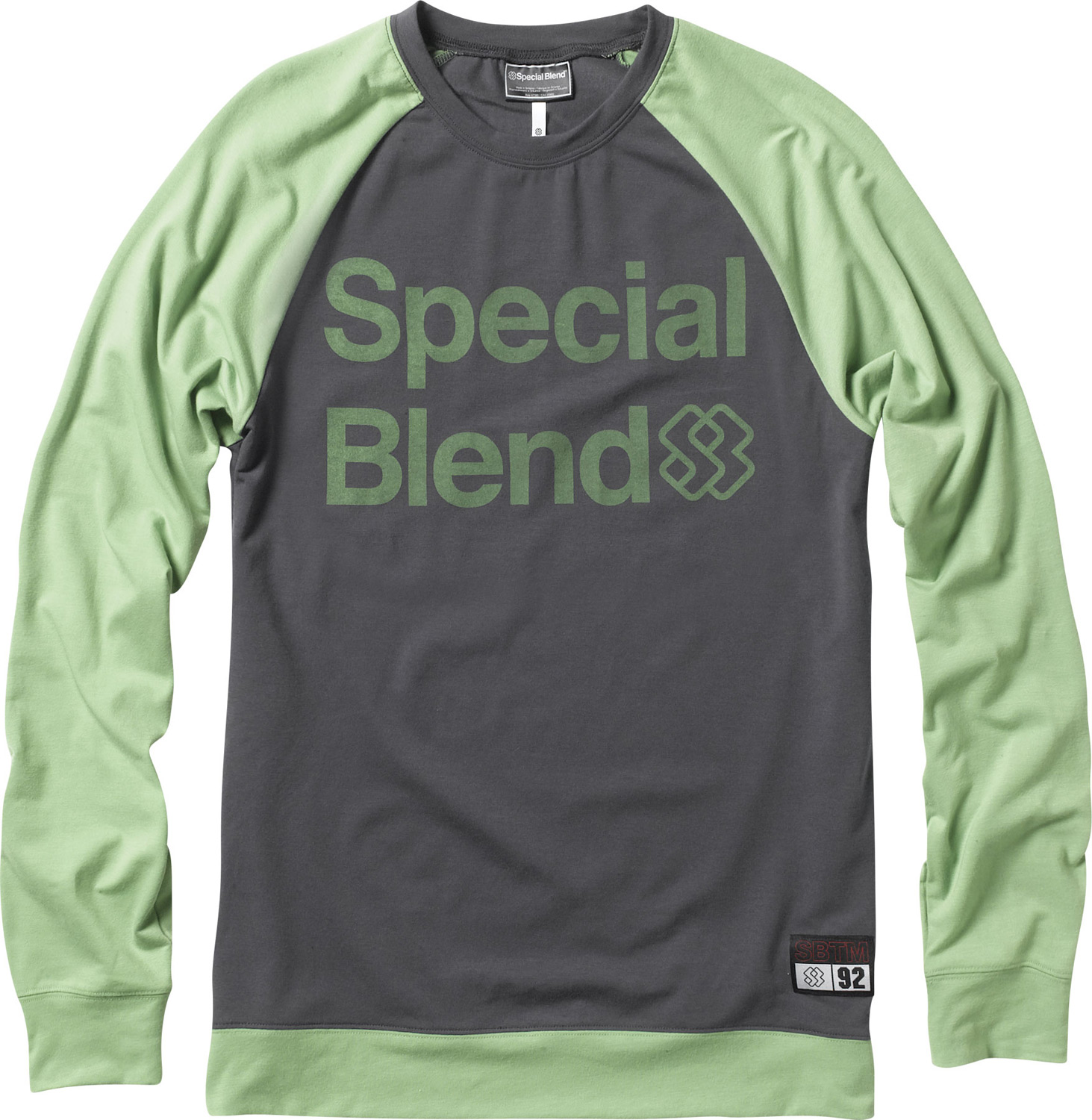 Key Features of the Special Blend Dirty Jersey First Layer Top: Freedom Fit Wicking and Anti-Microbial Color Blocked Large SB emblem on front - $33.95