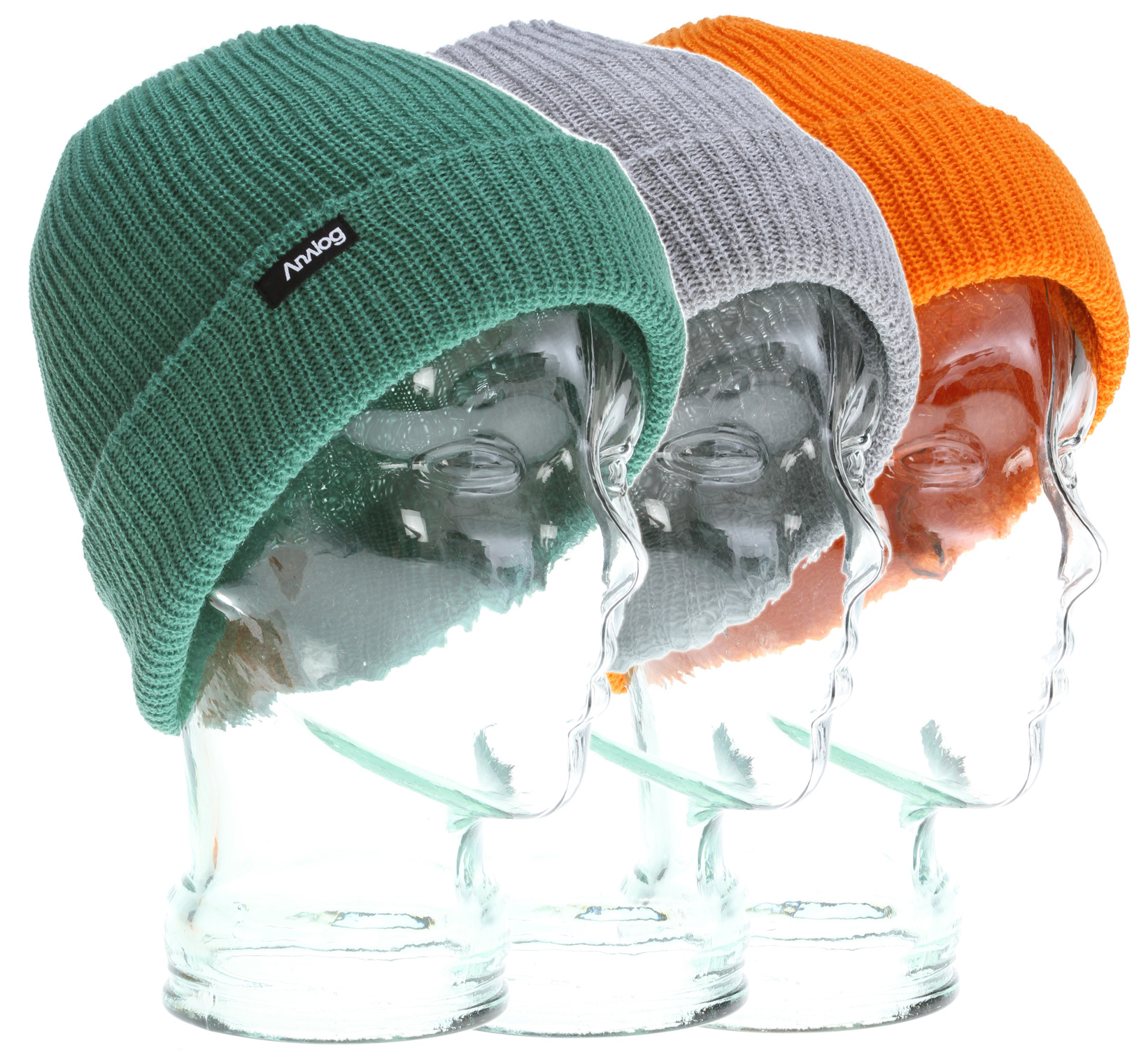 Key Features of the Analog 3 Pack Beanies: Acrylic . Multi-Color 3 Pack. Burglar Fit - $24.00