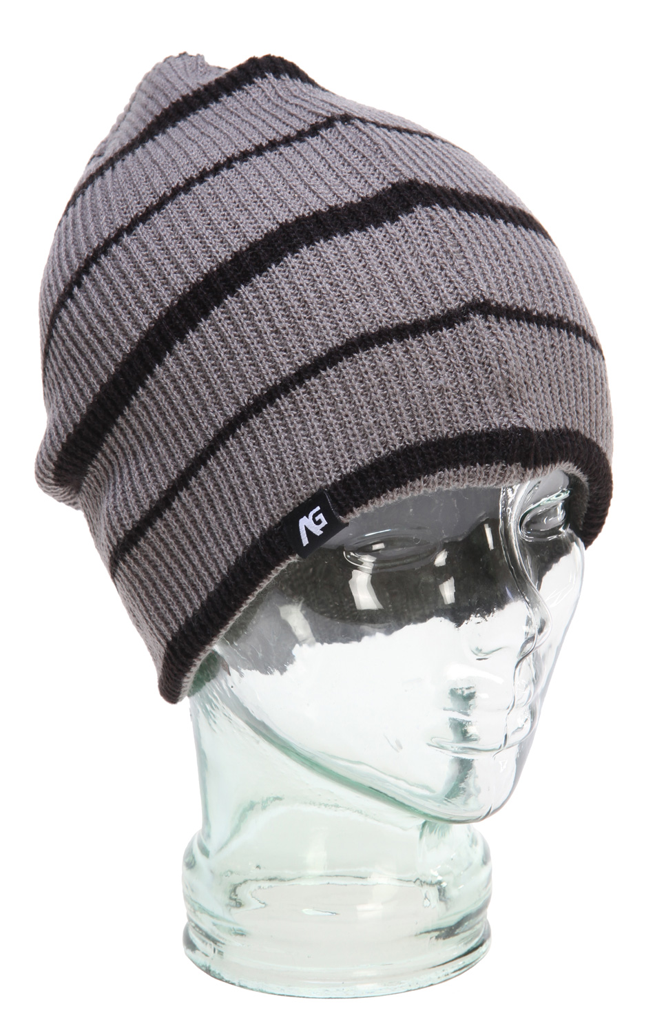 Key Features of the Analog Slouch Beanie: 100% Acrylic Repeat stripe yarn dye Slouch fit - $27.95