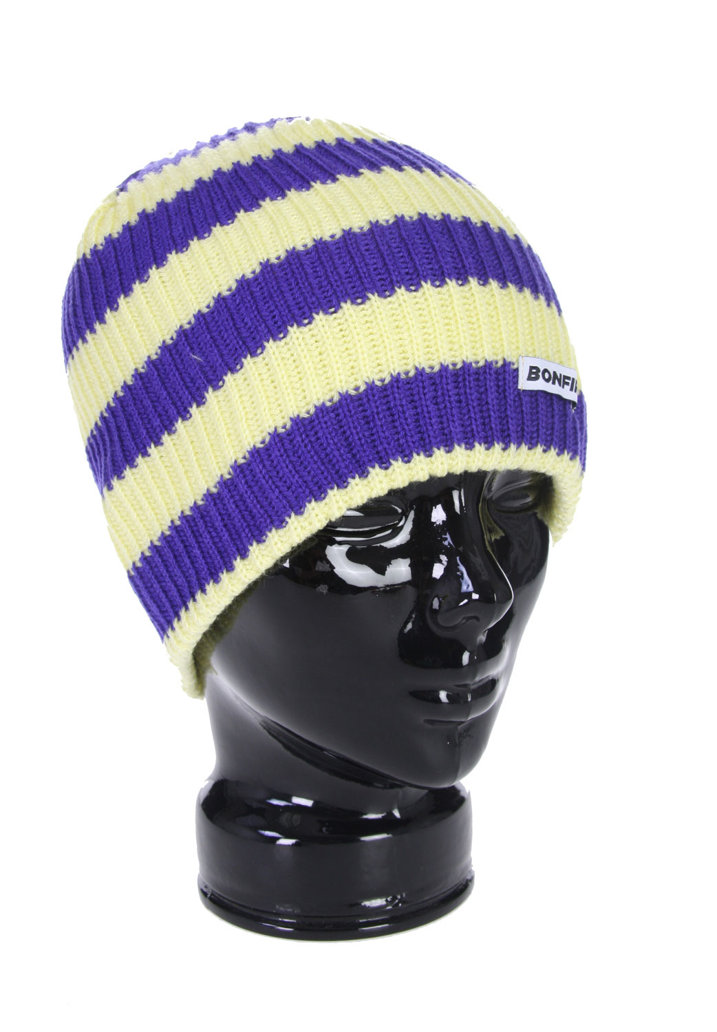 If you have been looking for that beanie that guarantees to keep you warm while showing off your style and won't cause you to break the bank to but it, then look no further because the Bonfire Stripe Beanie is exactly what you have been looking for. This beanie is tight fitting so you can wear it comfortably underneath a helmet or all by itself. The style and comfort that if offered from the Bonfire Stripe Beanie makes it a great addition to any collection.Key Features of The Bonfire Stripe Beanie: 100% Acrylic - $16.95