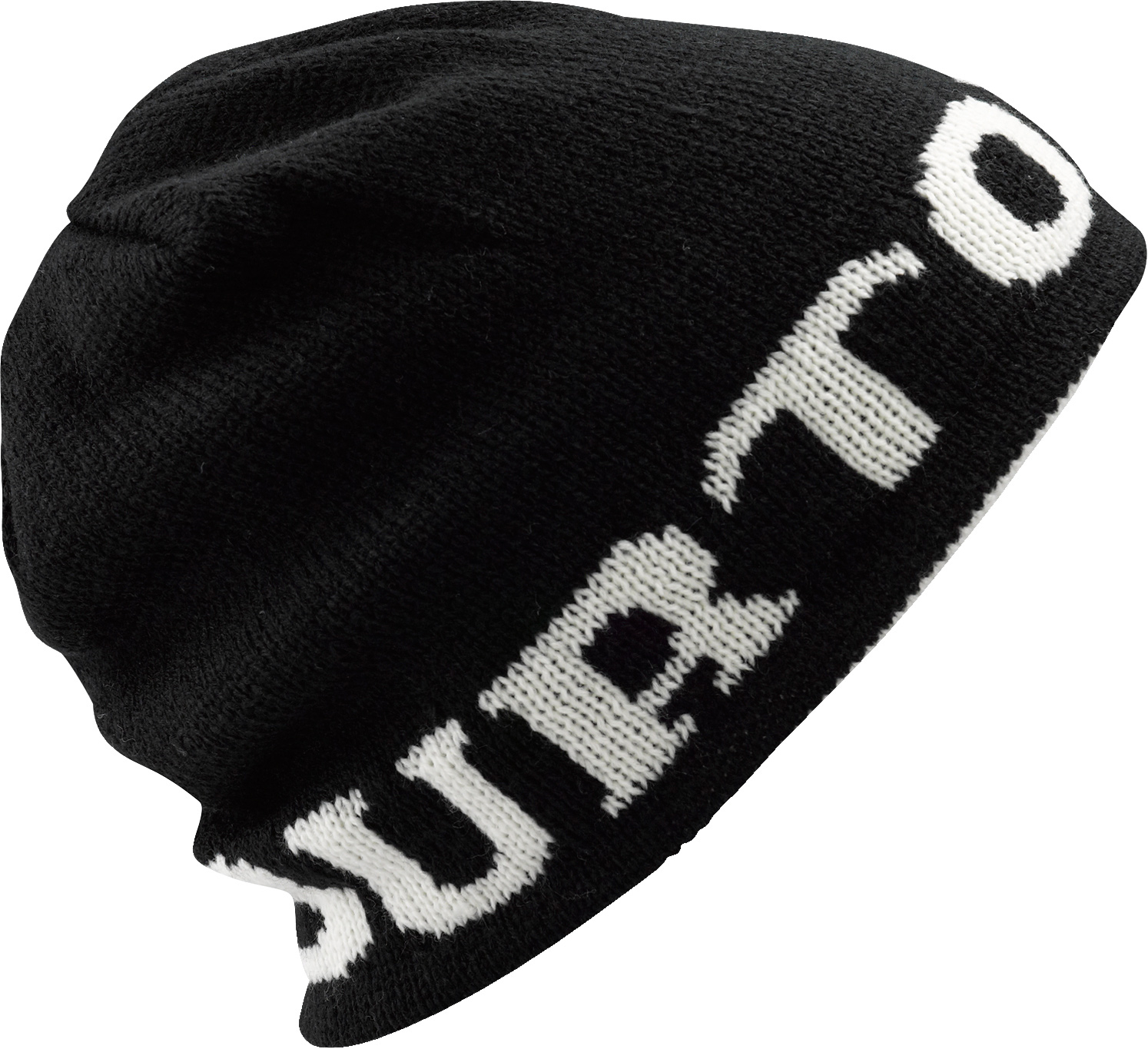 Snowboard Key Features of the Burton Billboard Heritage Beanie: 100% Brushed Acrylic Mountain Logo with Burton Word Mark on Reverse Slouch Fit - $15.95