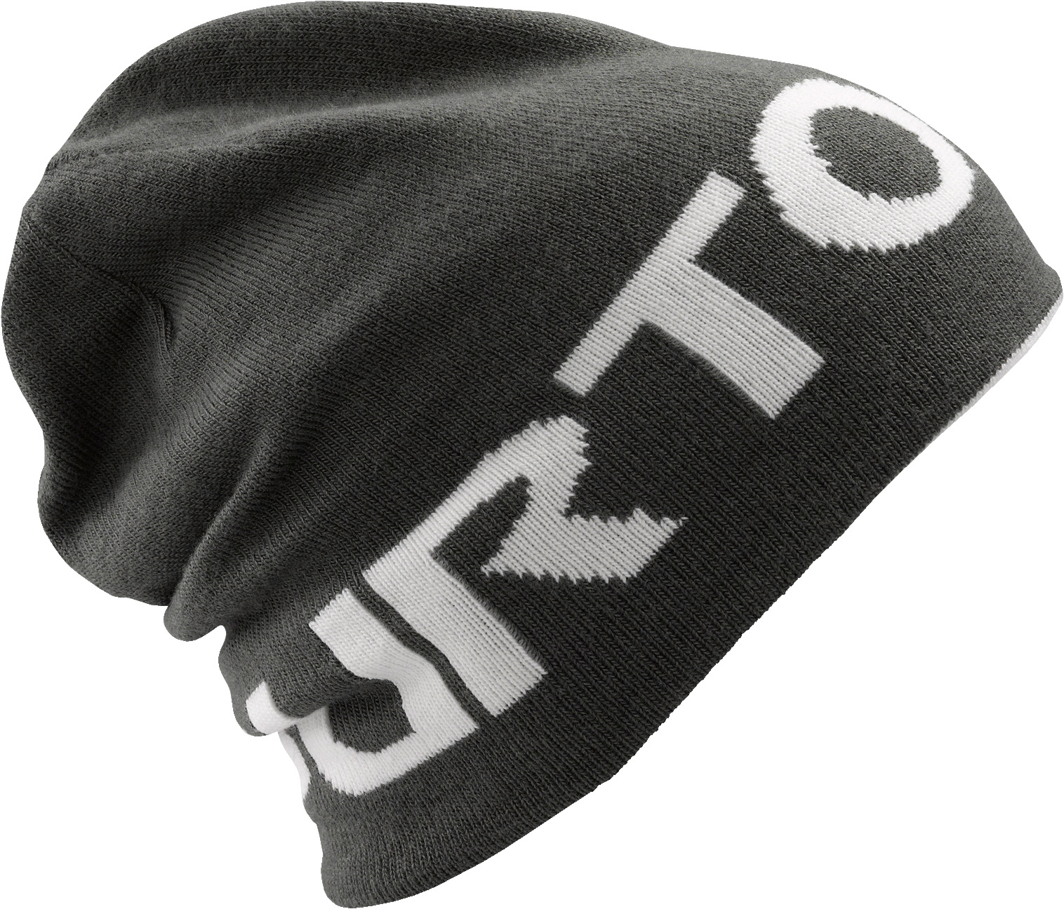 Snowboard Key Features of the Burton Billboard Beanie: 100% Acrylic Reversible Beanie in Solid Jacquard Skully Fit - $12.95