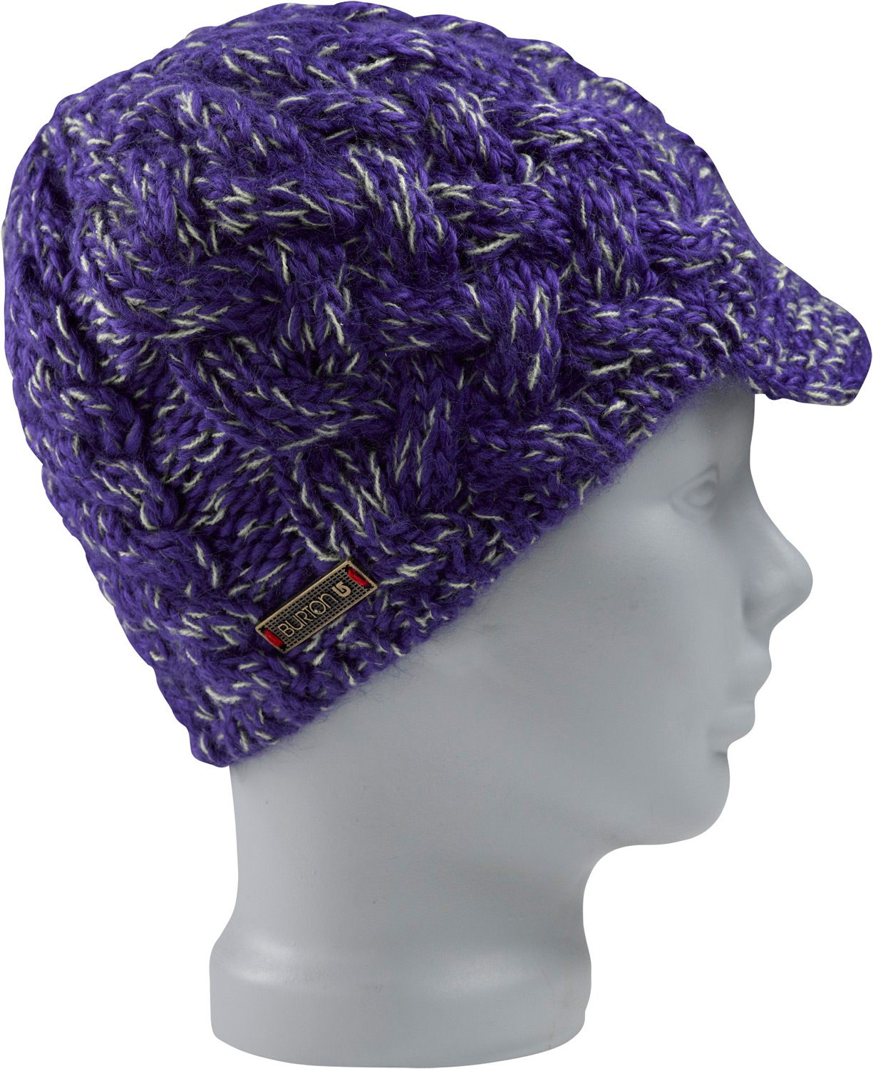 Snowboard Key Features of the Burton Breanie Beanie: 100% Ice Wool Twisted Yarn Brimmed Style Skully Fit - $21.95