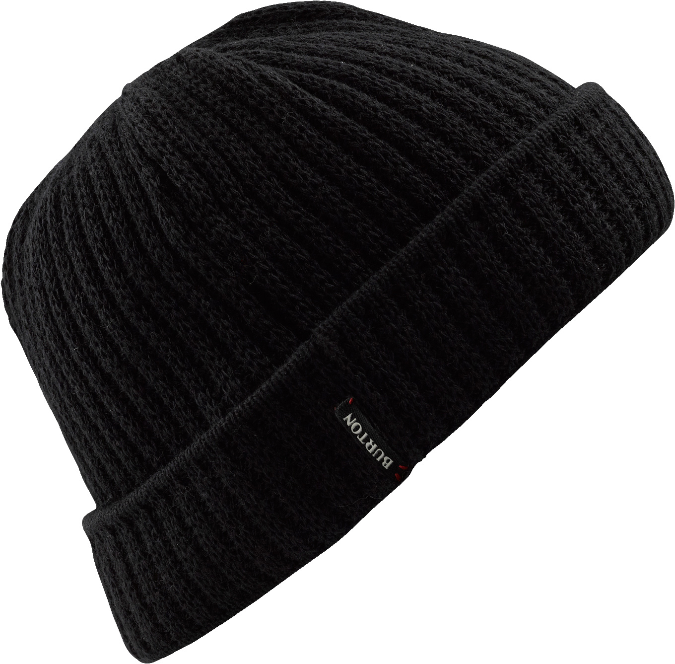 Snowboard Key Features of the Burton Cash Beanie: 100% Acrylic Fold Up with Skully Fit - $14.95