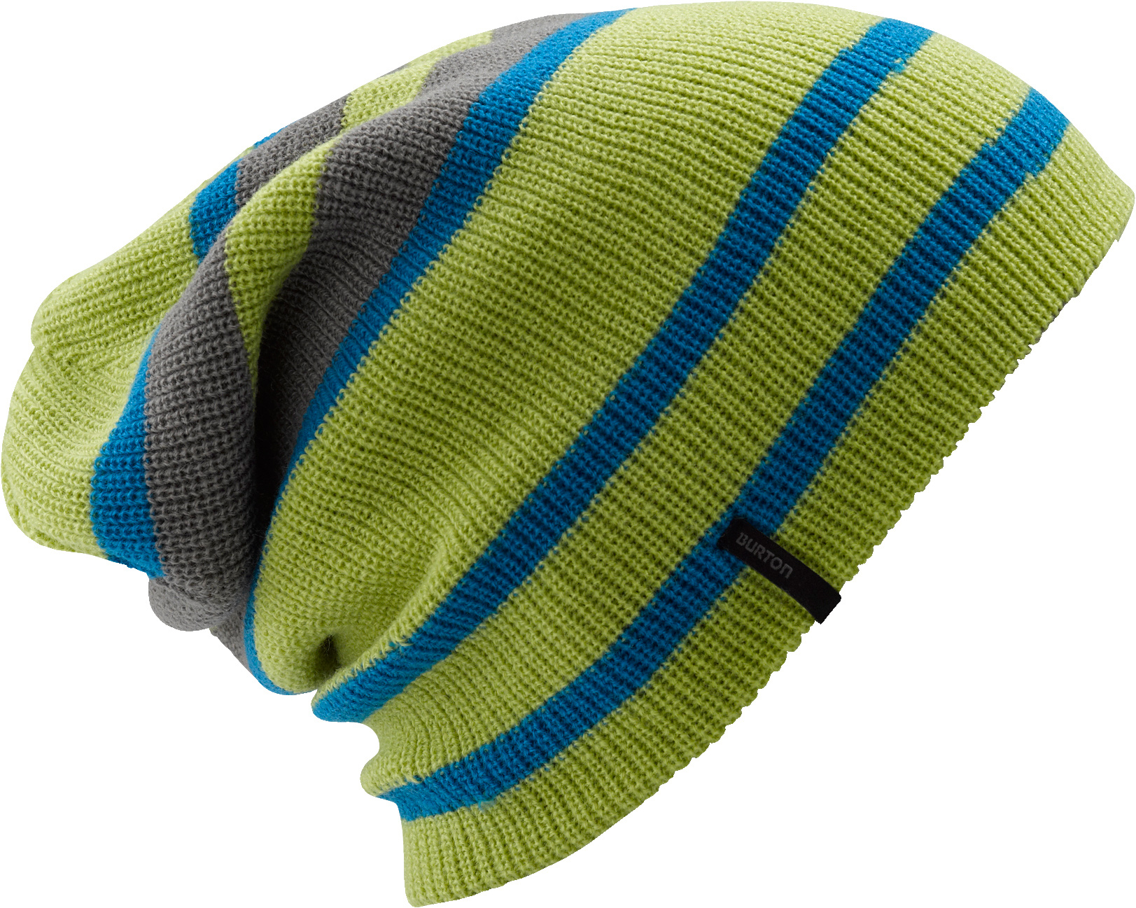 Snowboard Key Features of the Burton Whoudino Beanie: 100% Acrylic Solid with Striped Reverse Convertible Slouch or Skully Fit Four Ways to Wear it! - $25.00