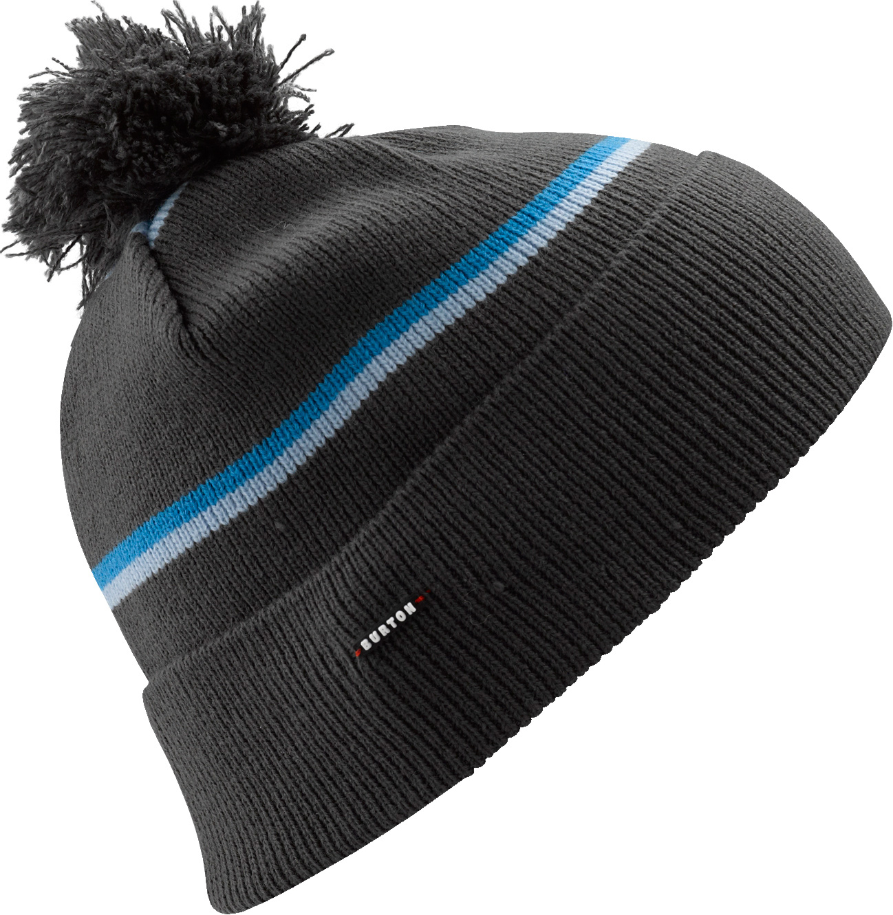 Snowboard Key Features of the Burton Marcos Beanie: 100% Acrylic Multi Stripe Fold Up Beanie with Pom Skully Fit - $15.95