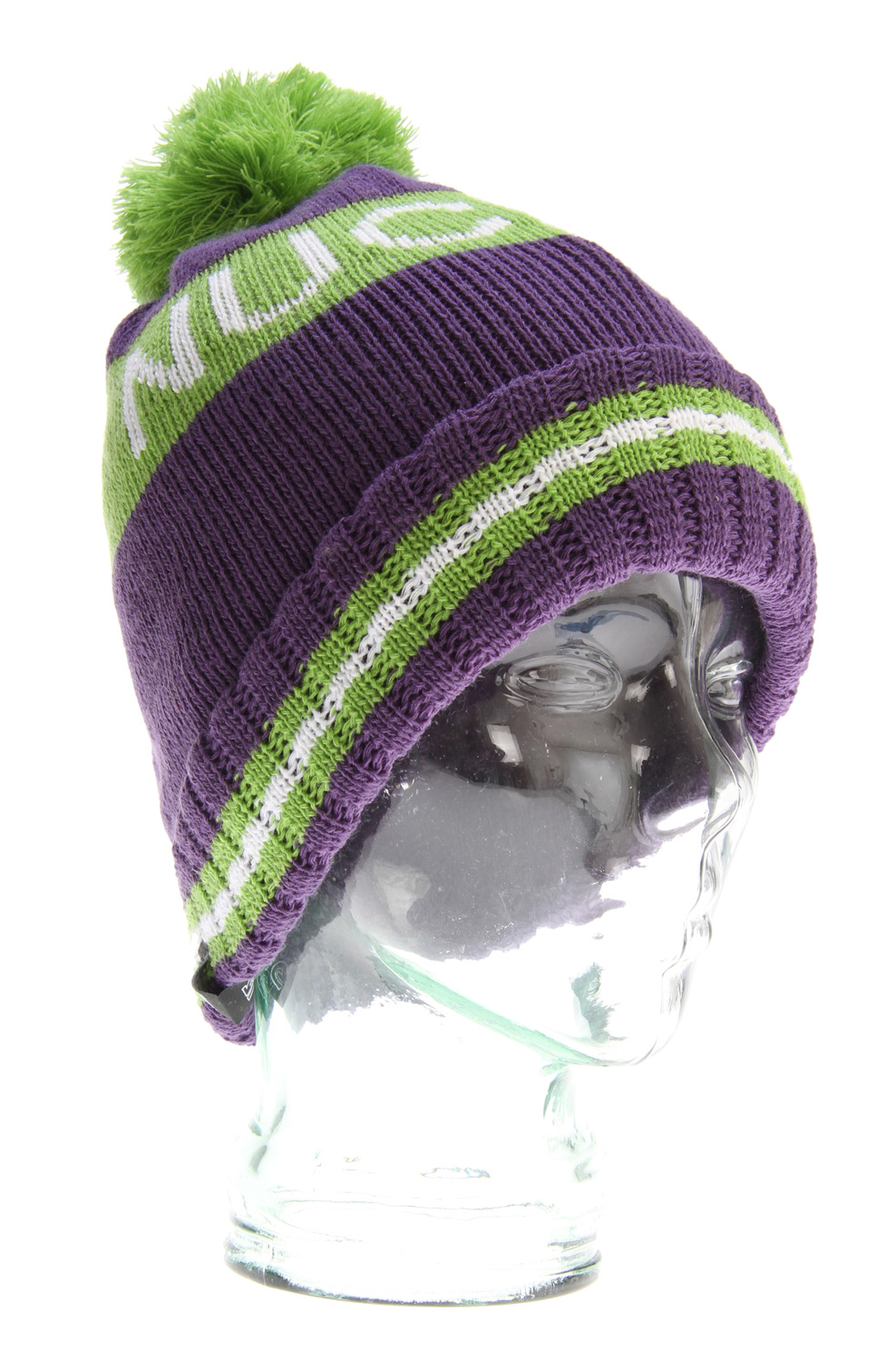 Snowboard The Burton Roast Beef Beanie. Vintage Striped Beanie with Stitched Old School Shred Vernacular, 100% Acrylic - Super Slouch/Fold Up Fit. - $19.95