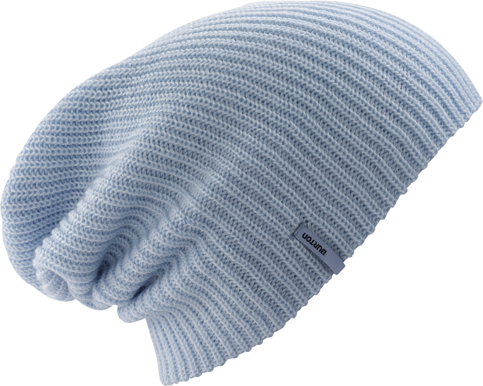 Snowboard Key Features of the Burton Truckstop Beanie: 100% Acrylic Basic Solid Knit Beanie Fold Up with Super Slouch Fit - $13.00