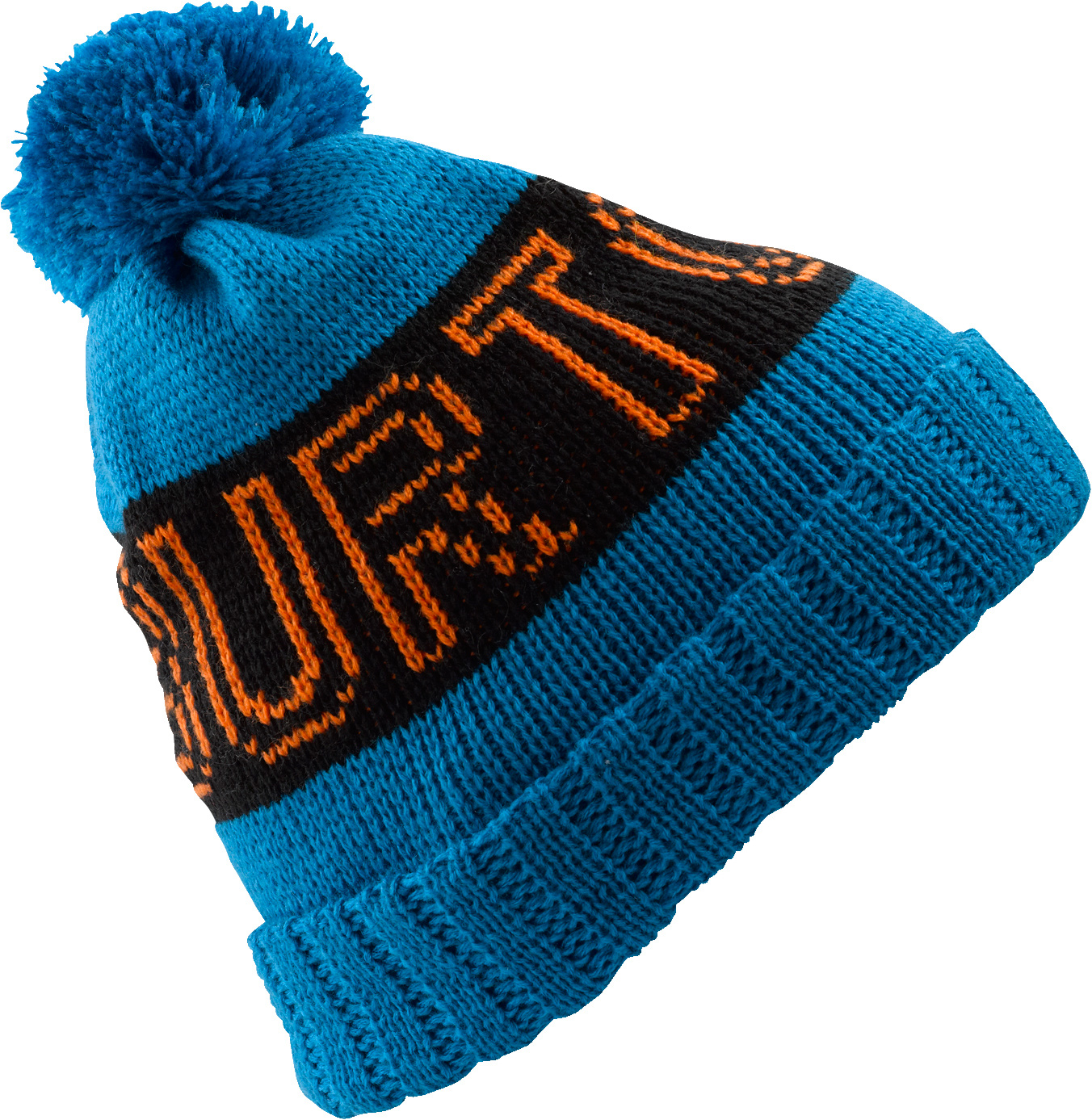 Snowboard Key Features of the Burton Viper Beanie: 100% Acrylic Vintage Inspired Beanie with Burton Word Mark Fold Up with Skully Fit - $27.00