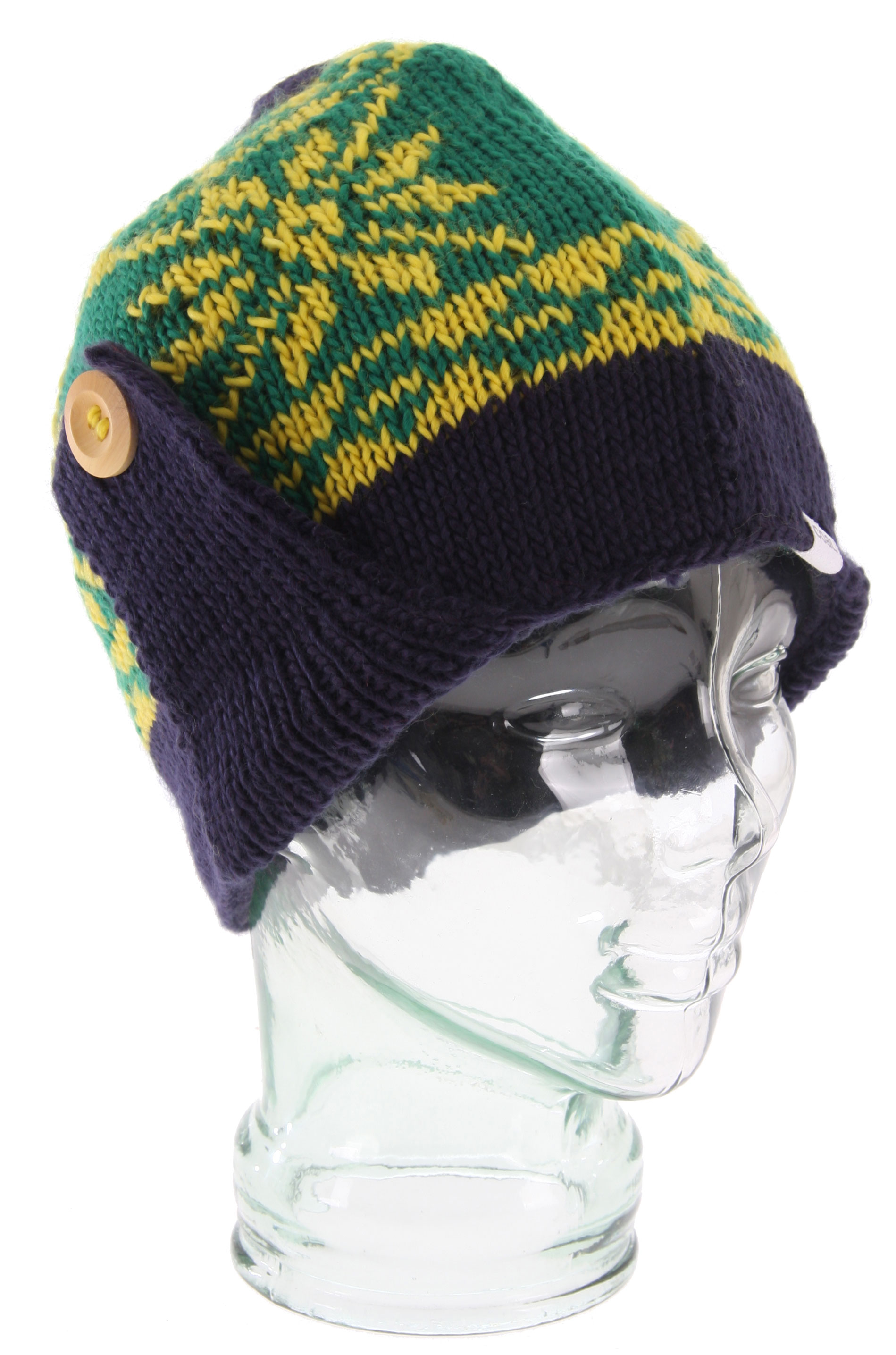 Guns and Military Key Features of the Coal Mckenzie Flap Beanie: A unique chunky hand knit earflap beanie. Wear the flaps buttoned up, or down with the adjustable button detail. Full fleece headband for ultimate warmth. Silky Acrylic. - $19.57